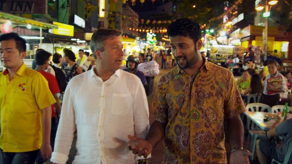 John Torode in Malaysia (UKTV)