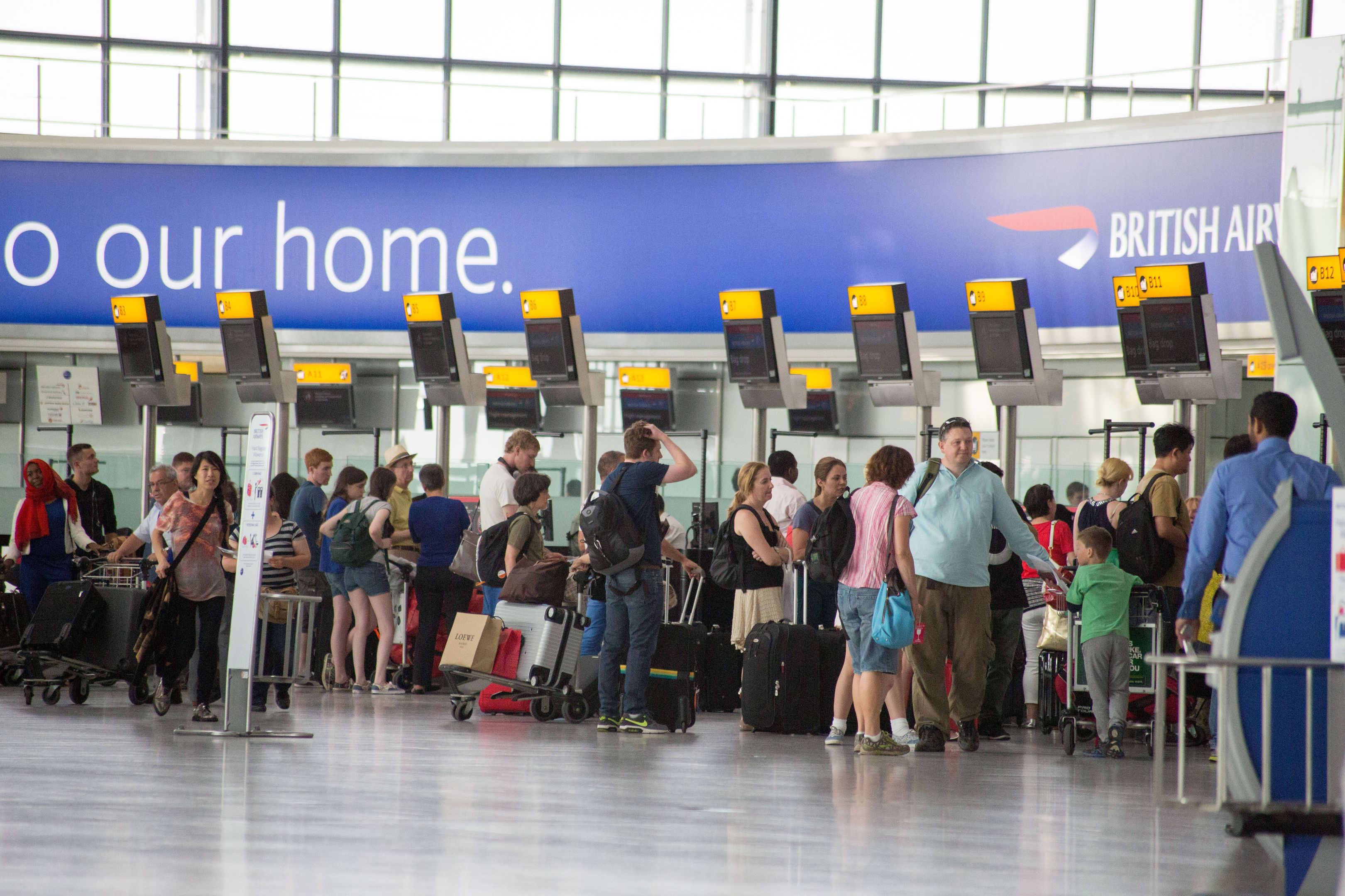 Many UK holidaymakers will pay less for food and drink when they go abroad this year, according to new research (Steve Parsons/PA Wire)