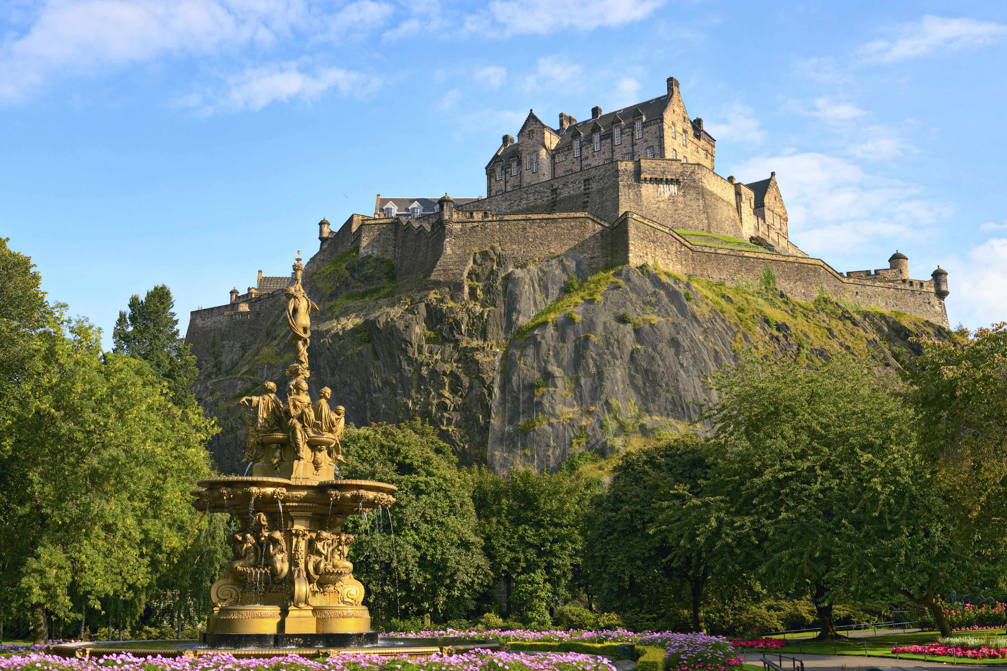 Edinburgh Castle (Getty Images)