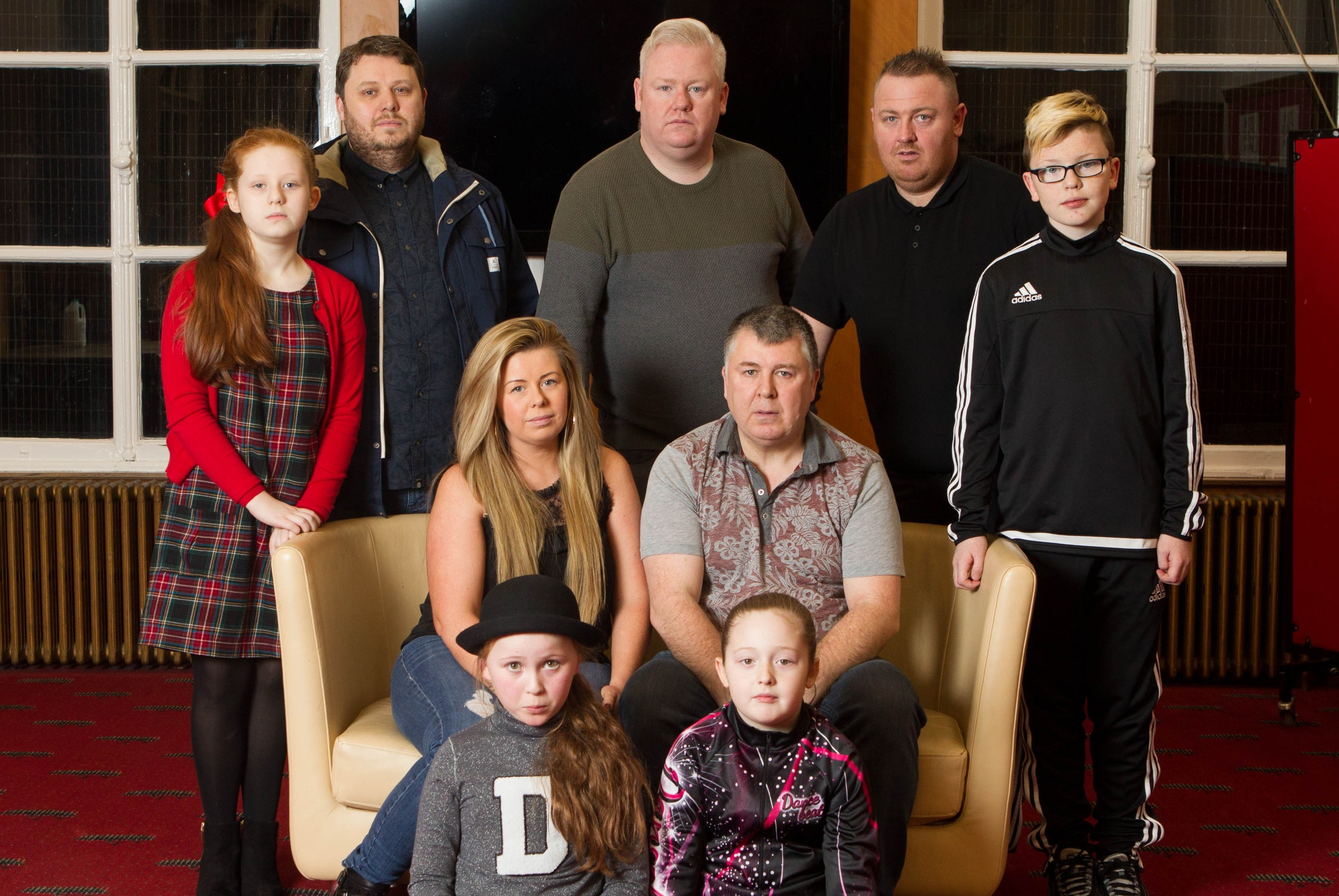 A family of brothers and sisters and cousins are living under shadow of a killer gene (Chris Austin / DC Thomson)