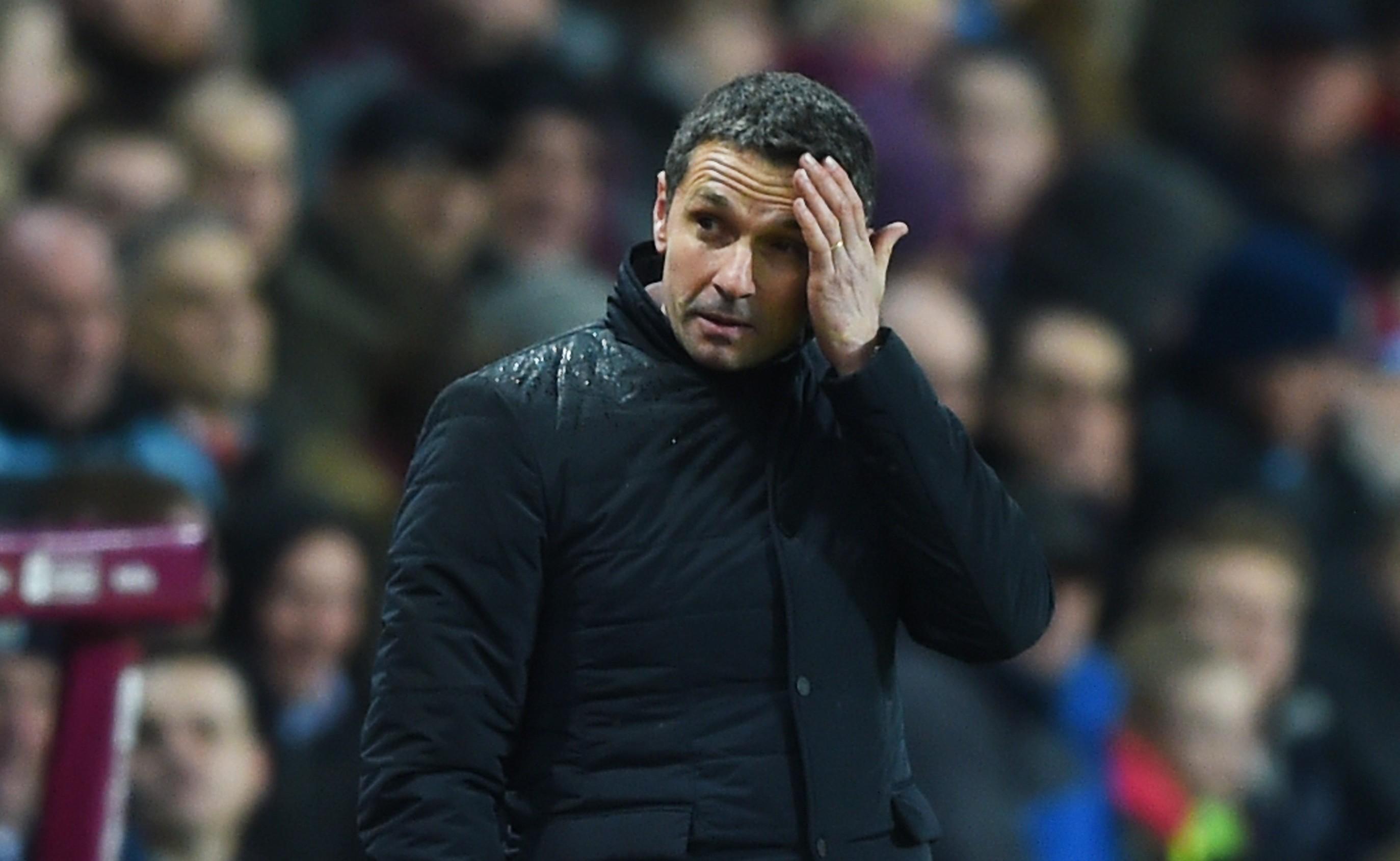 Aston Villa manager Remi Garde (Shaun Botterill/Getty Images)