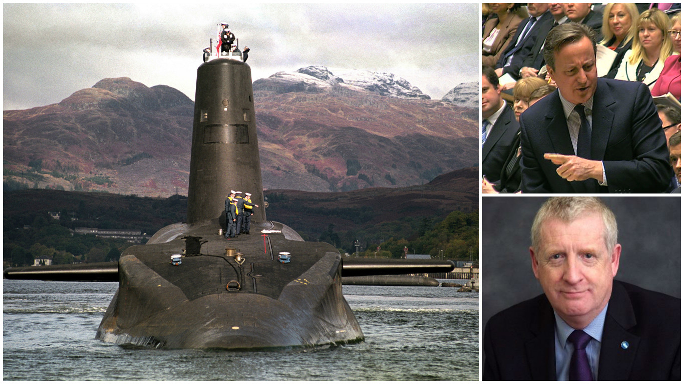 The SNP's Douglas Chapman talks Trident and PMQs