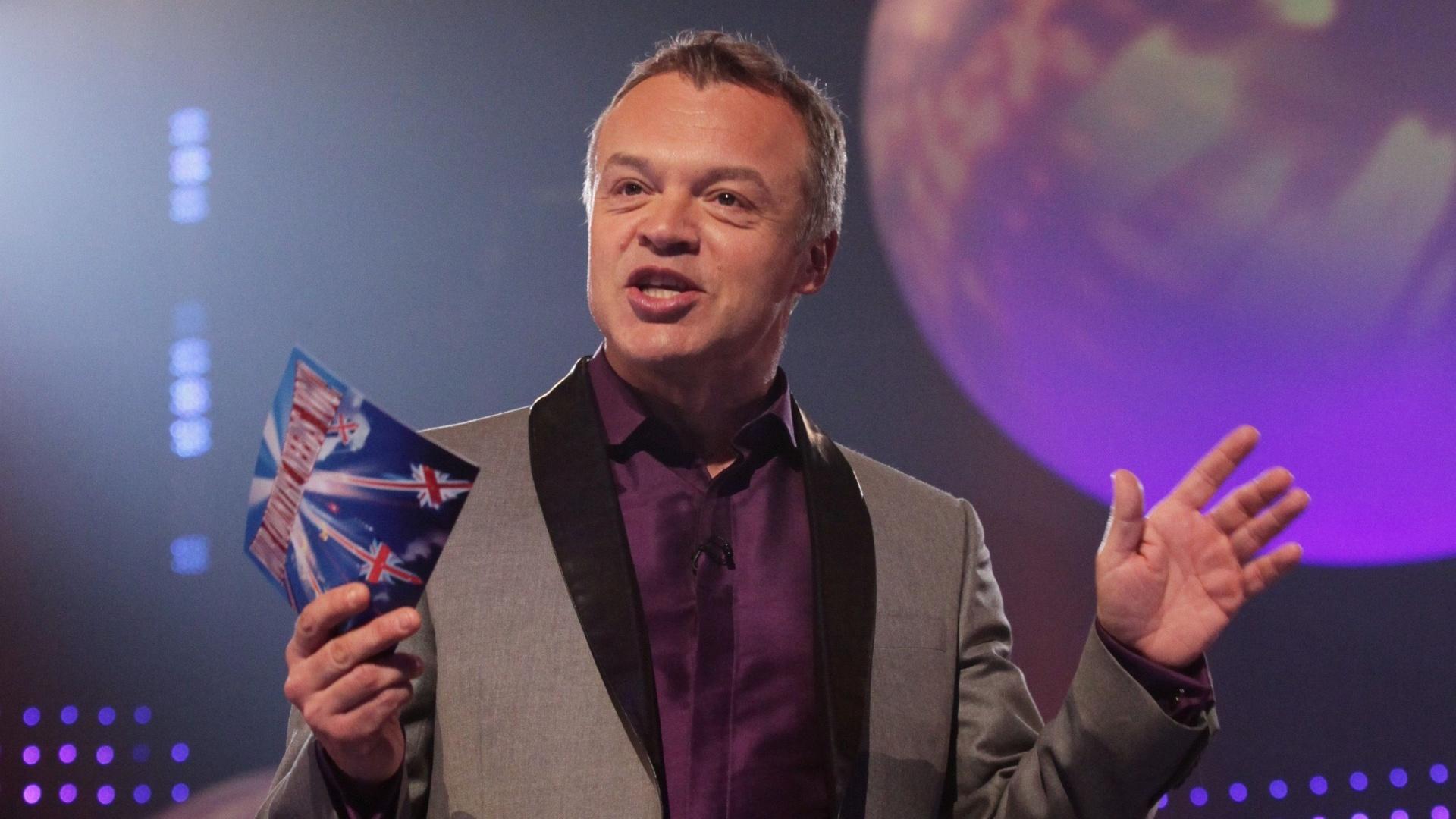 Graham Norton hosting Eurovision (PA)
