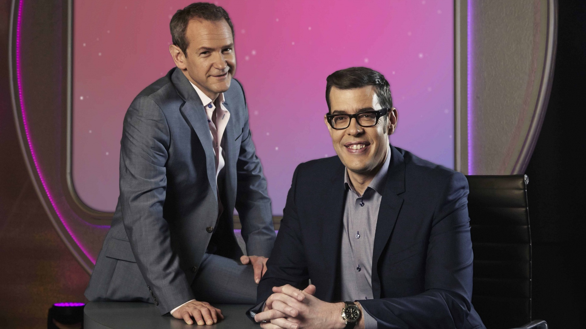 Alexander and Richard on Pointless (BBC / PA)