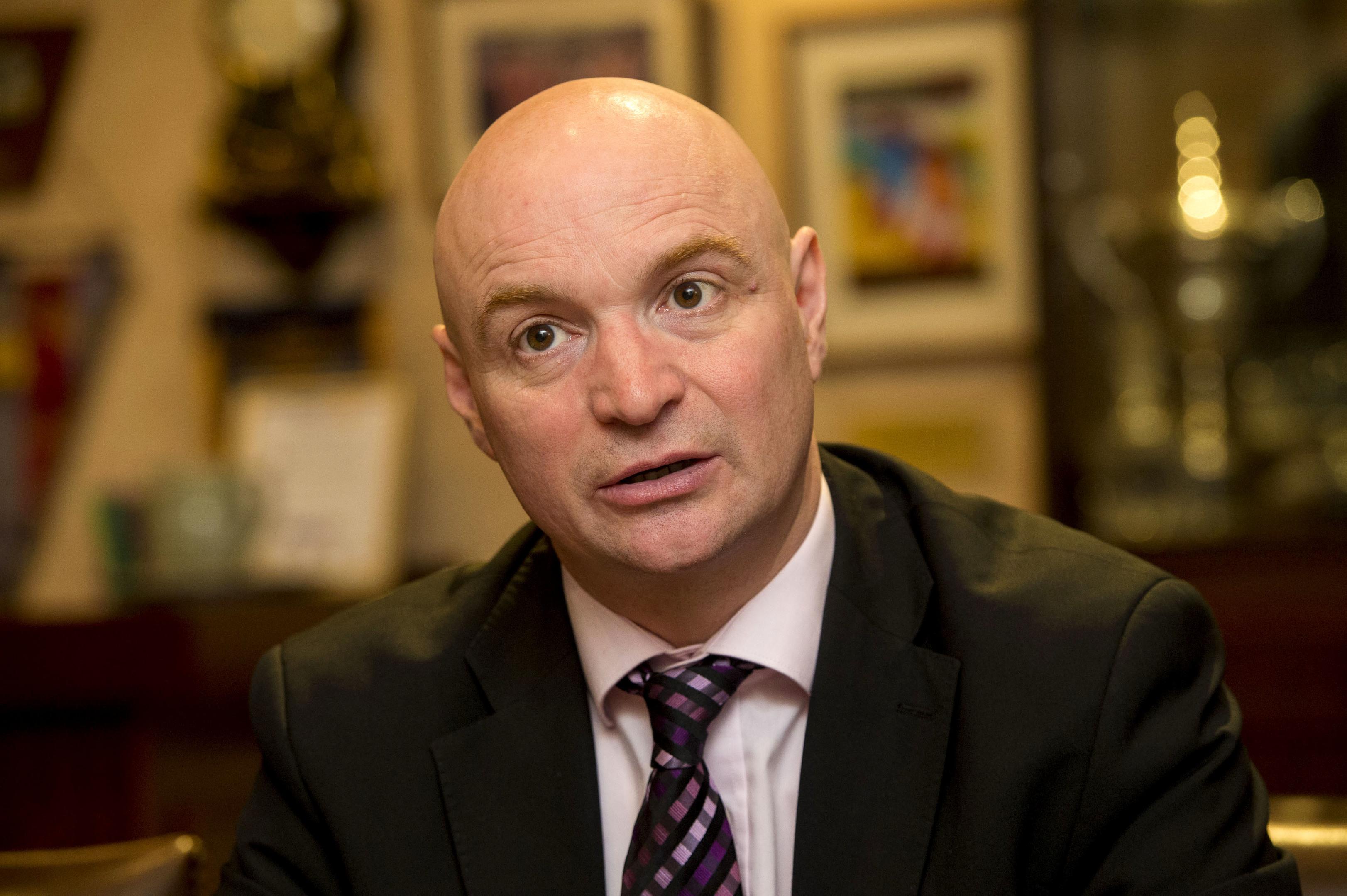 Dundee Utd Chairman Stephen Thompson (SNS Group / Craig Watson)