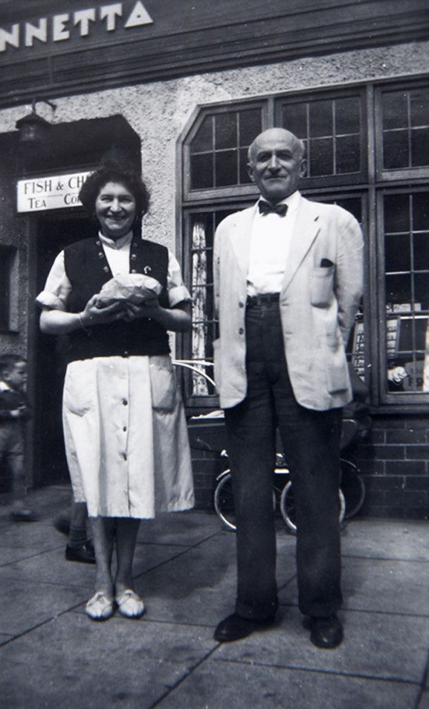 Mary and Charlie in the 1950s.