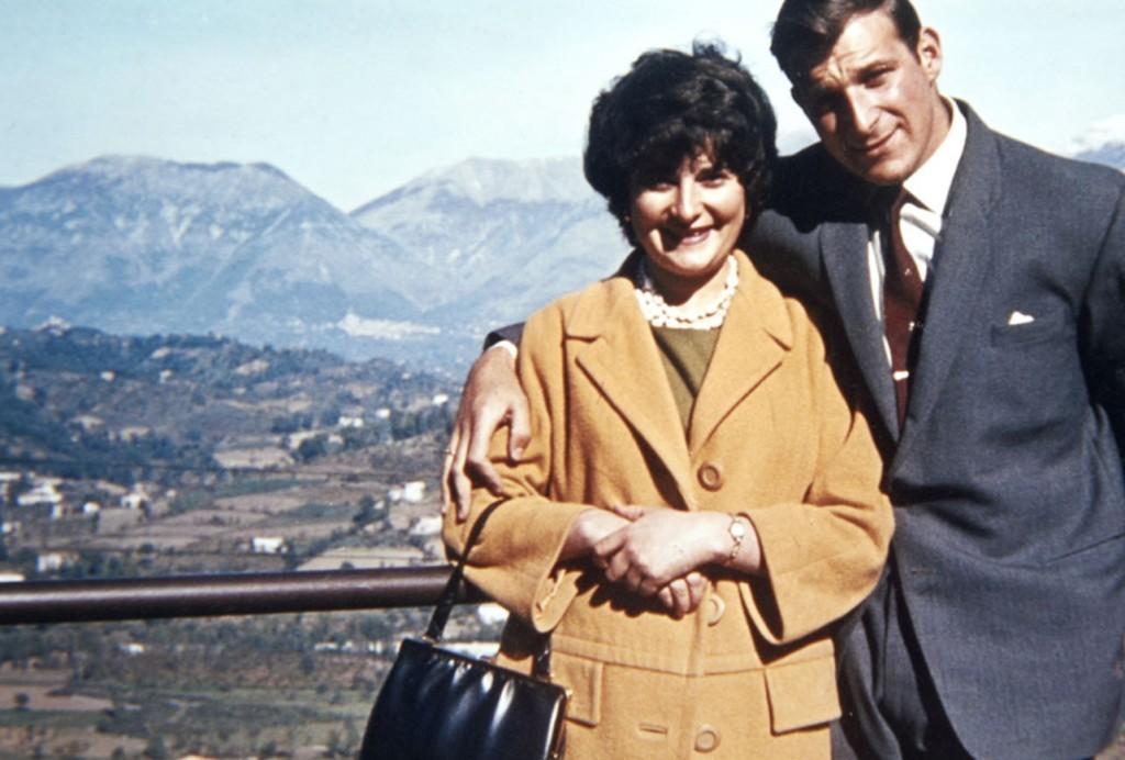 Fiona Jannetta and David De Angelis in 1963.