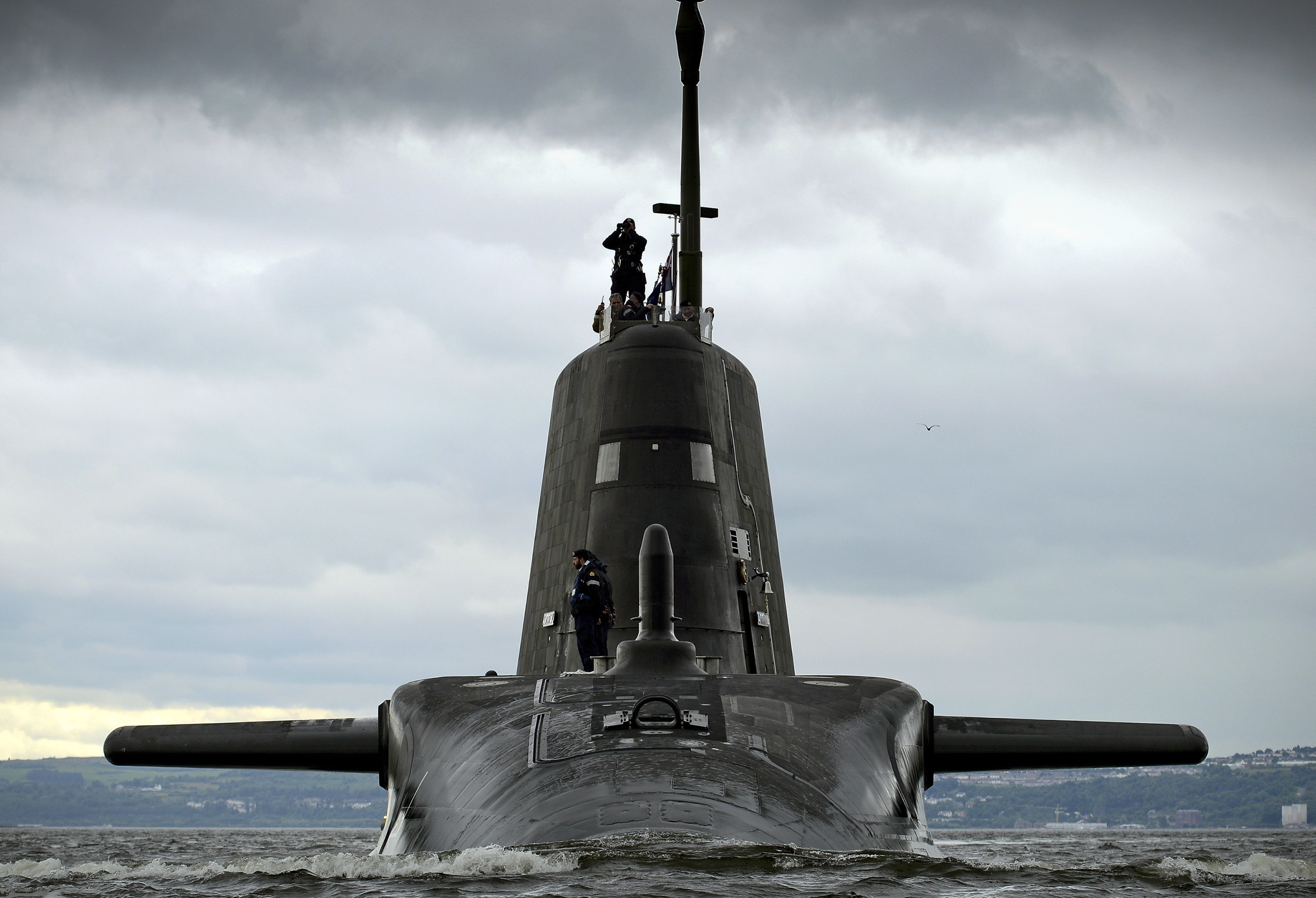 Faslane is the home of the UK's Trident submarines (Thomas McDonald / Royal Navy)