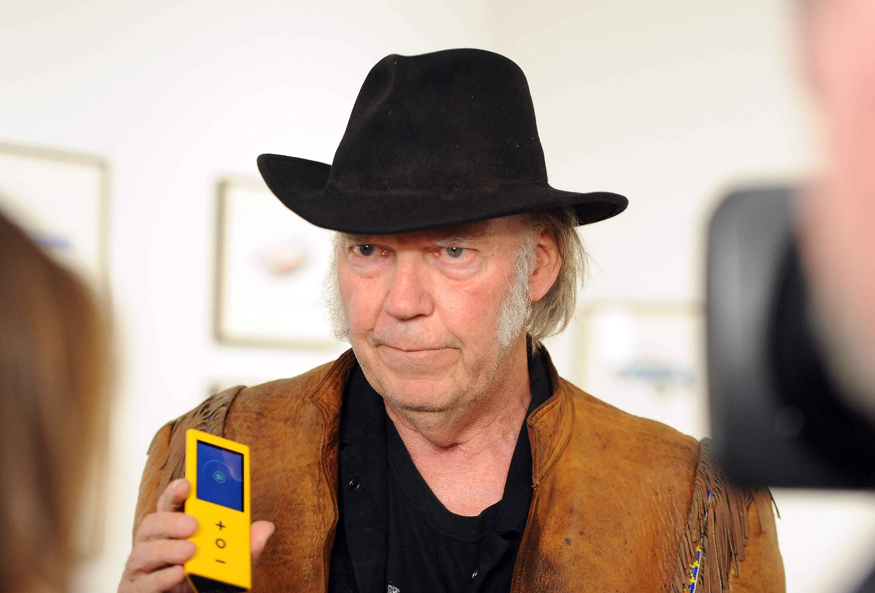 Singer Neil Young crowdfunded for his Pono device (Angela Weiss/Getty Images)
