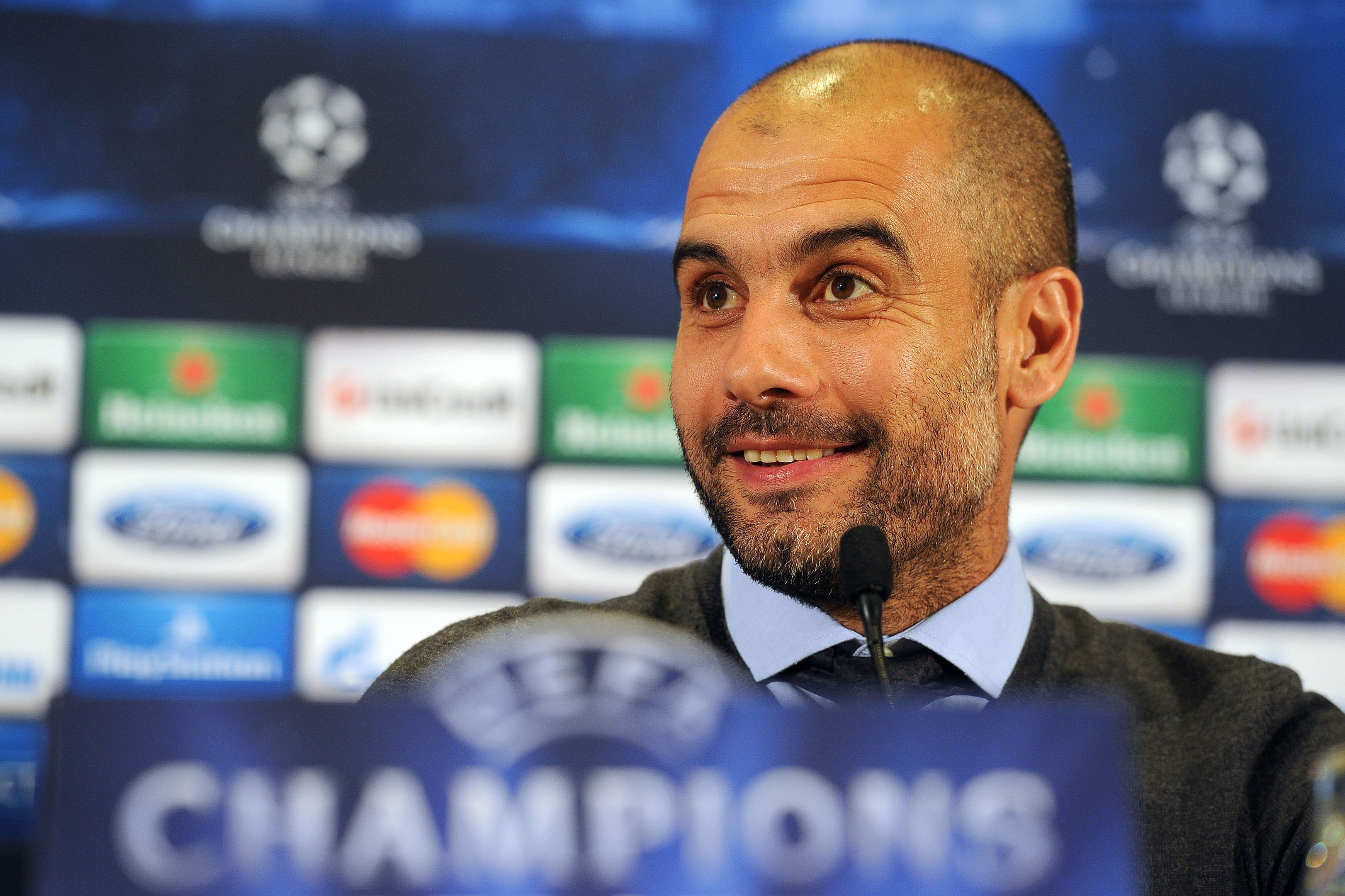 Pep Guardiola (Martin Rickett/PA Wire)