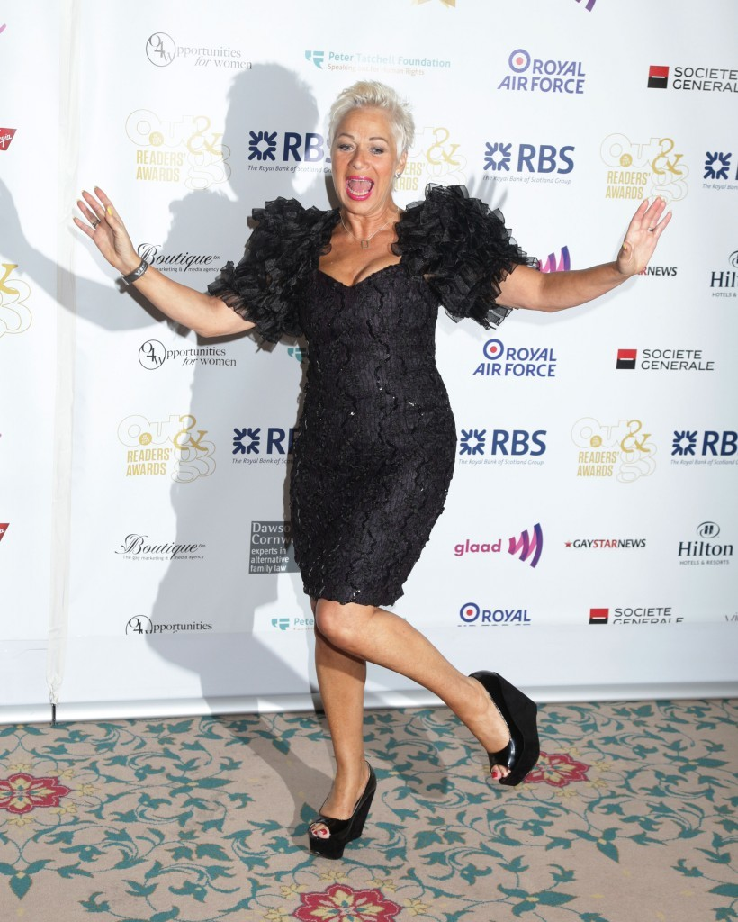 Denise Welch attending the Out In The City & g3 Readers Awards (Yui Mok / PA Archive)