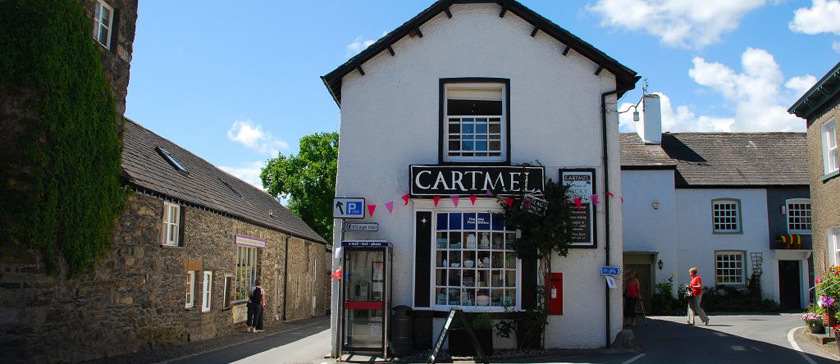 Cartmel village: The home of sticky toffee pudding. Nice for a wander and has some great second-hand and antiquarian bookshops too.
