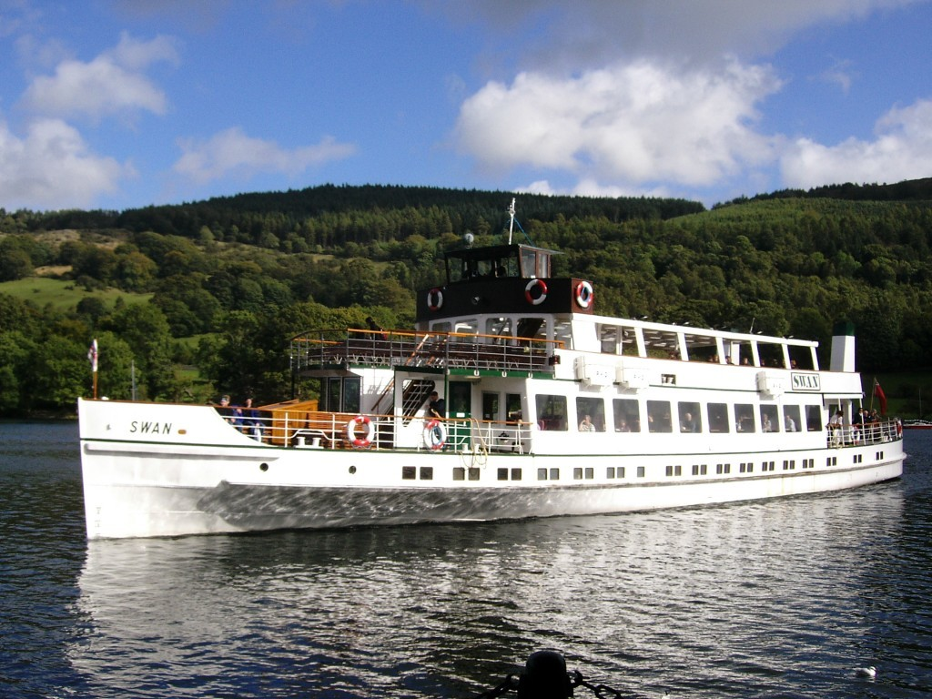 Boat trip on Windermere, there's no better way to see some of the gorgeous Lakeside scenery.