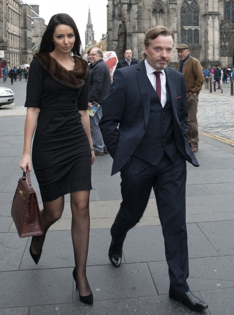 Craig Whyte and Charlotte Foley (PA Wire/Press Association Images)