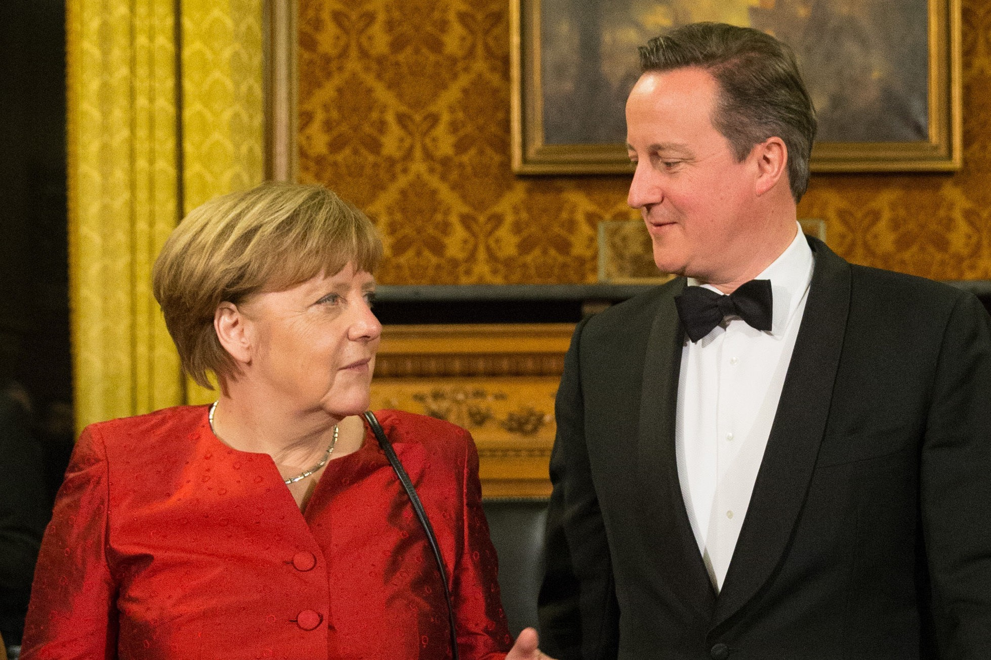 PM Cameron is in talks (Christian Charisius/dpa via AP)