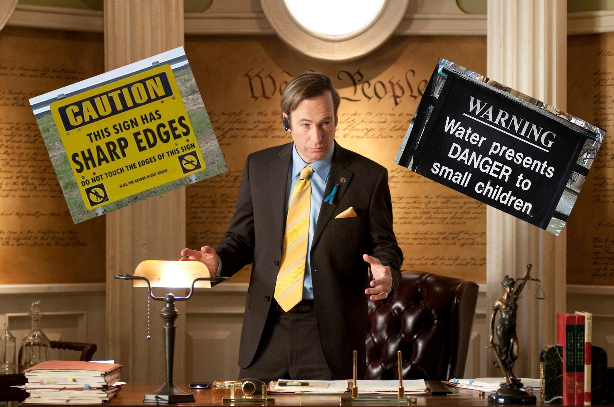 Lawyer Saul Goodman from Breaking Bad & Better Call Saul