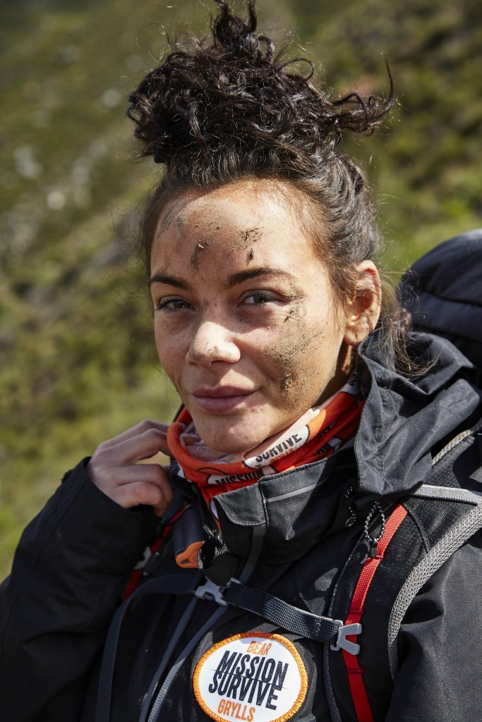 Chelsee on Bear Grylls: Mission Survive (ITV)