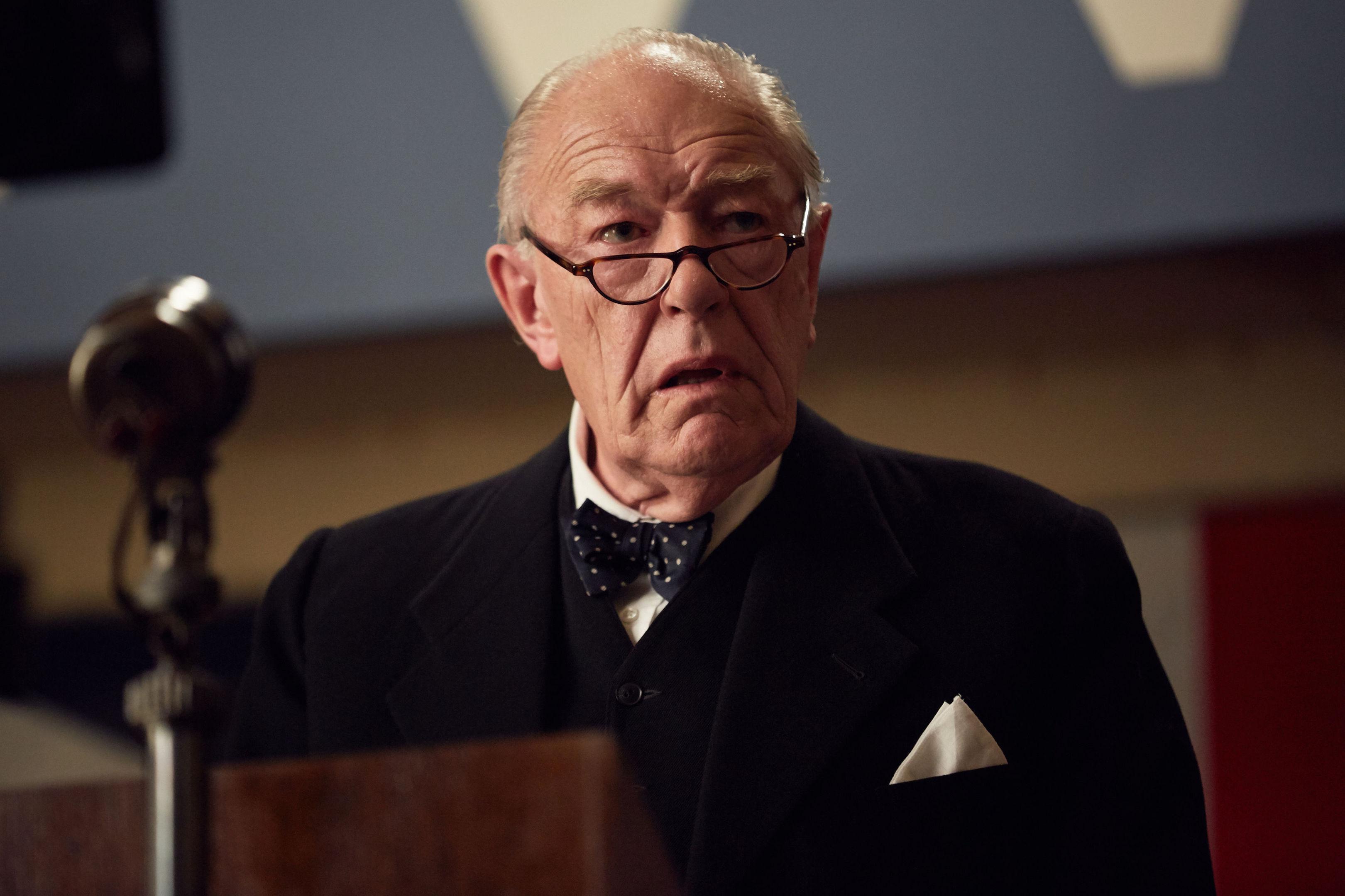 Gambon as Winston Churchill (ITV/ROBERT VIGLASKY/Daybreak)