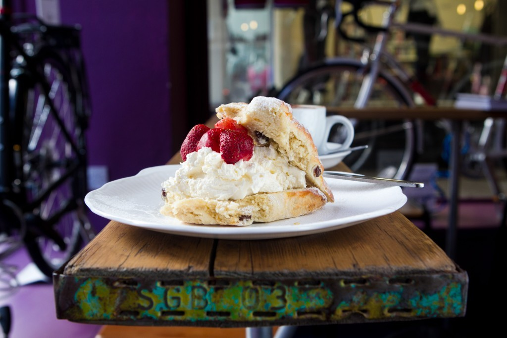 The scones are misshapen but delicious (Andrew Cawley / DC Thomson)