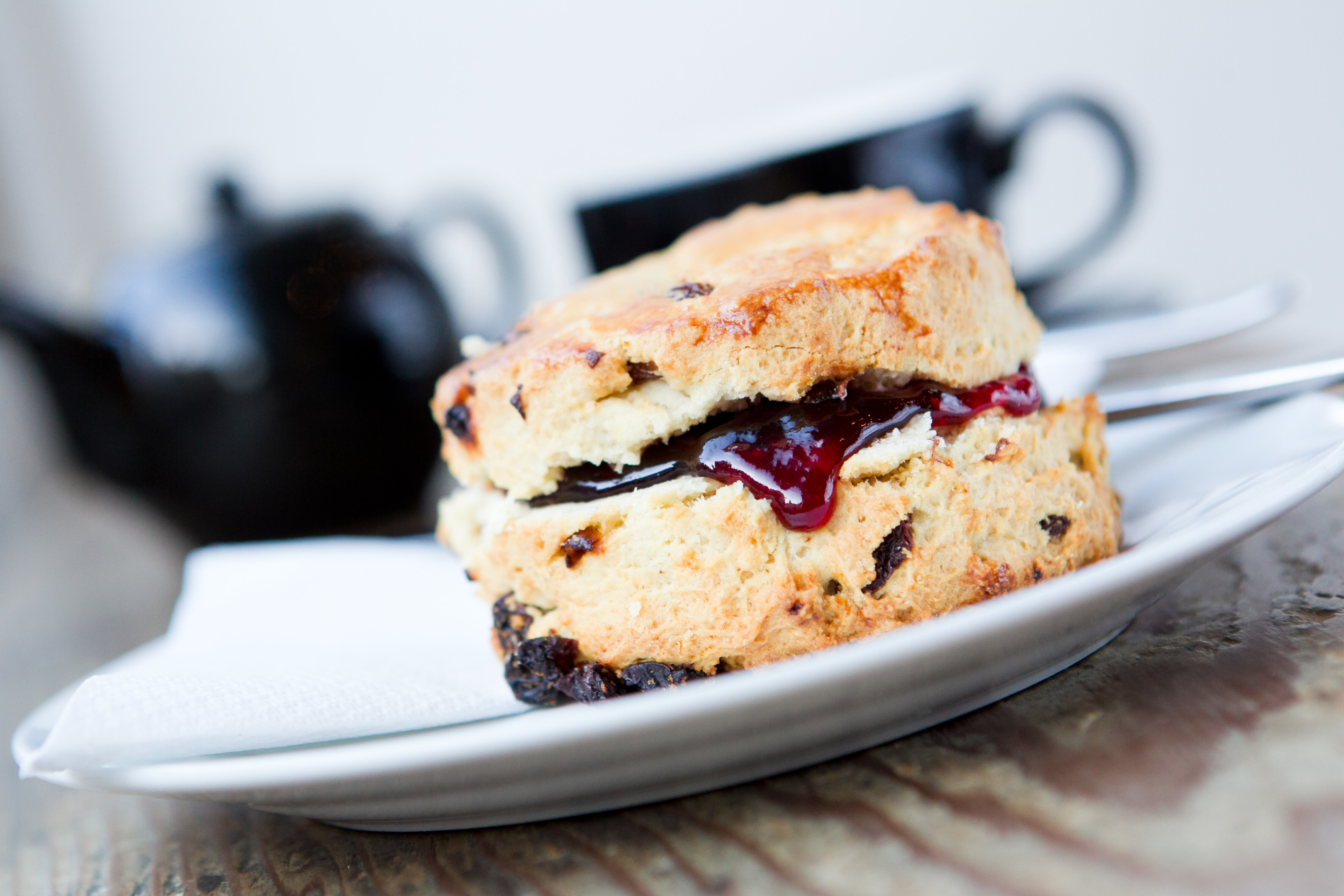 Riverhill Coffee Bar's scone (Andrew Cawley / DC Thomson)