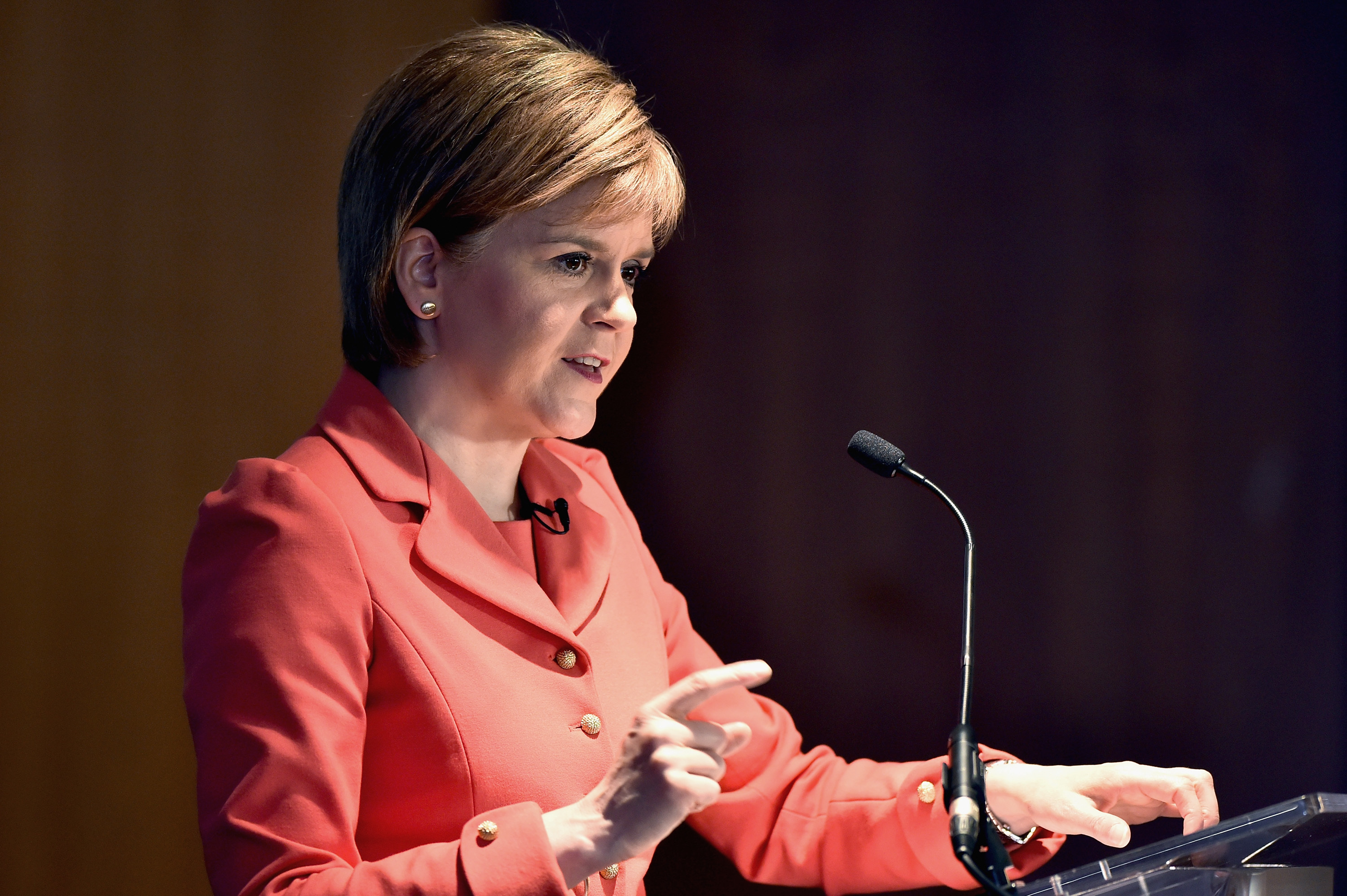 First Minister Nicola Sturgeon may hold a second independence referendum in the event of a no vote (Jeff J Mitchell/Getty Images)
