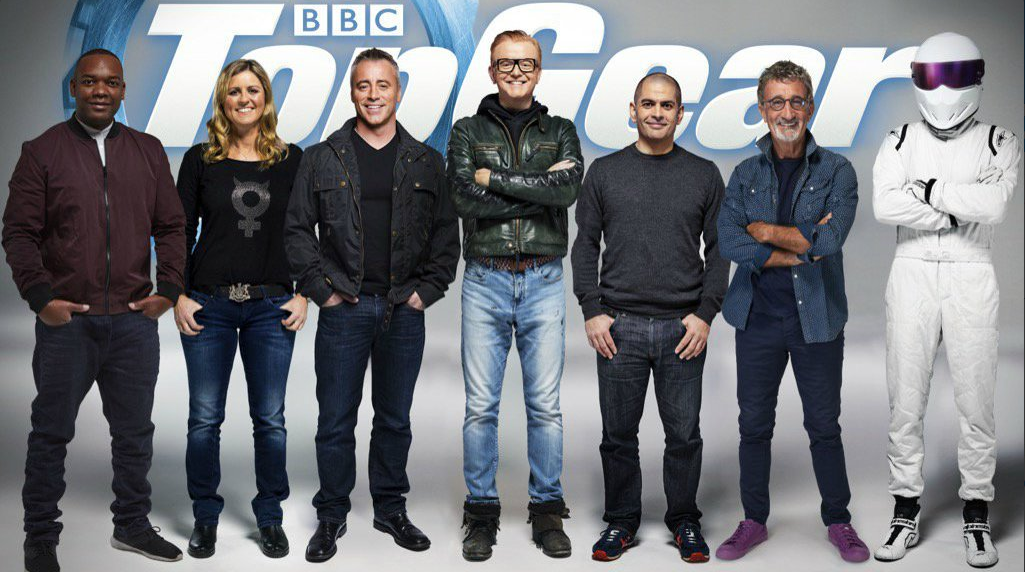 The new Top Gear team (BBC)