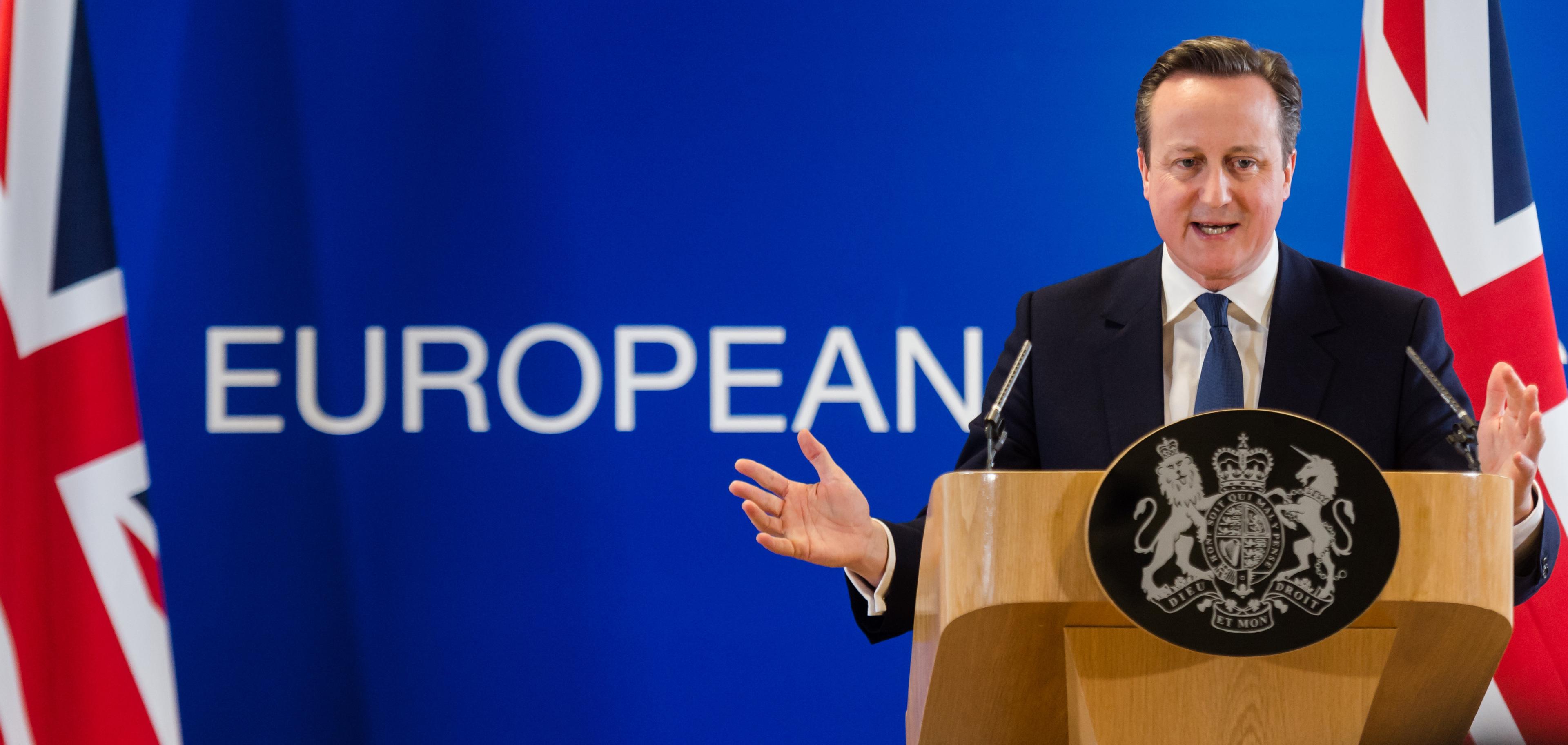 British Prime Minister David Cameron has set a date of June 23 for the crucial vote (AP/ Geert Vanden Wijngaert)