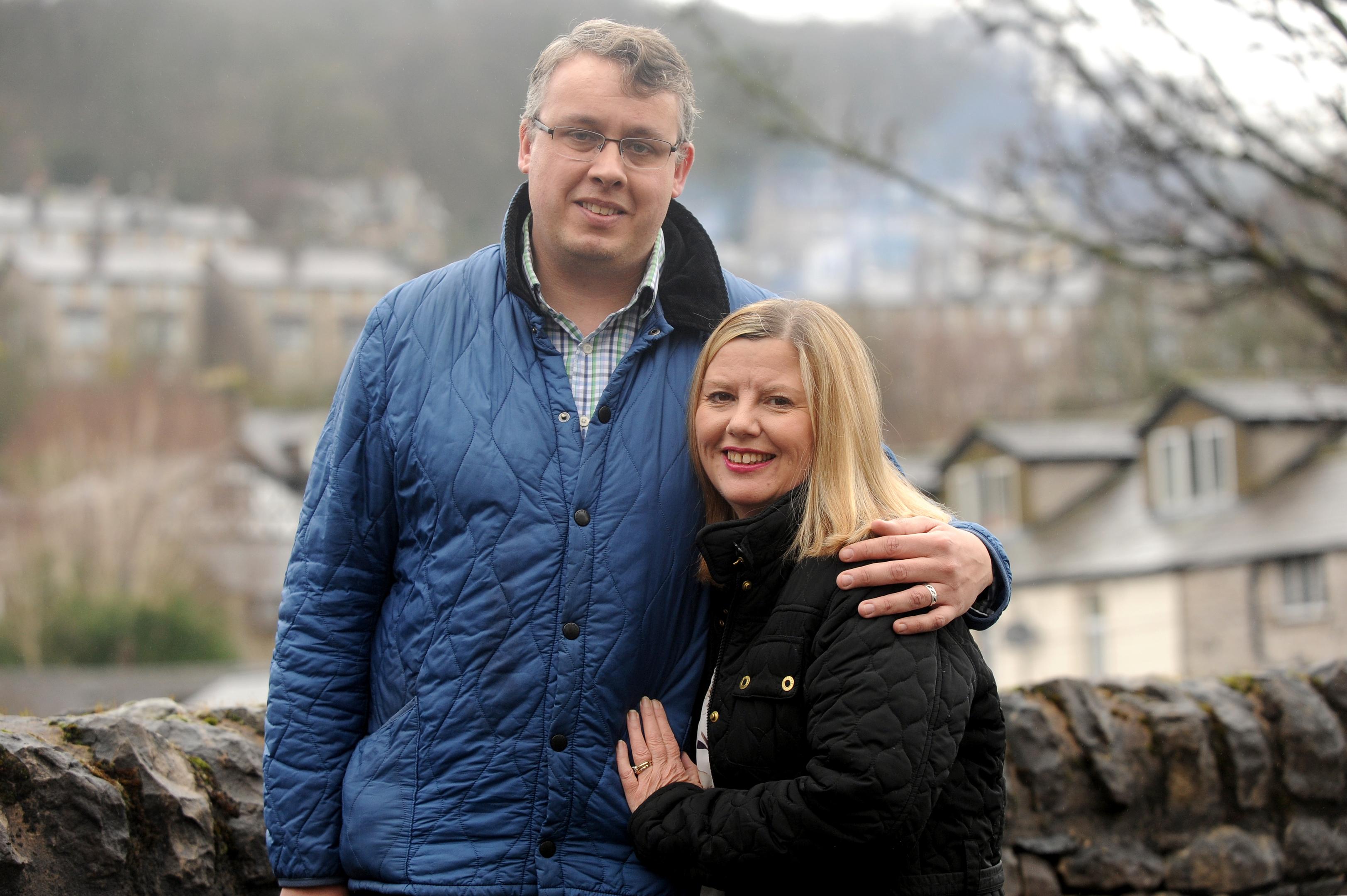 Chris and Rachael Hogg (Cascade News)