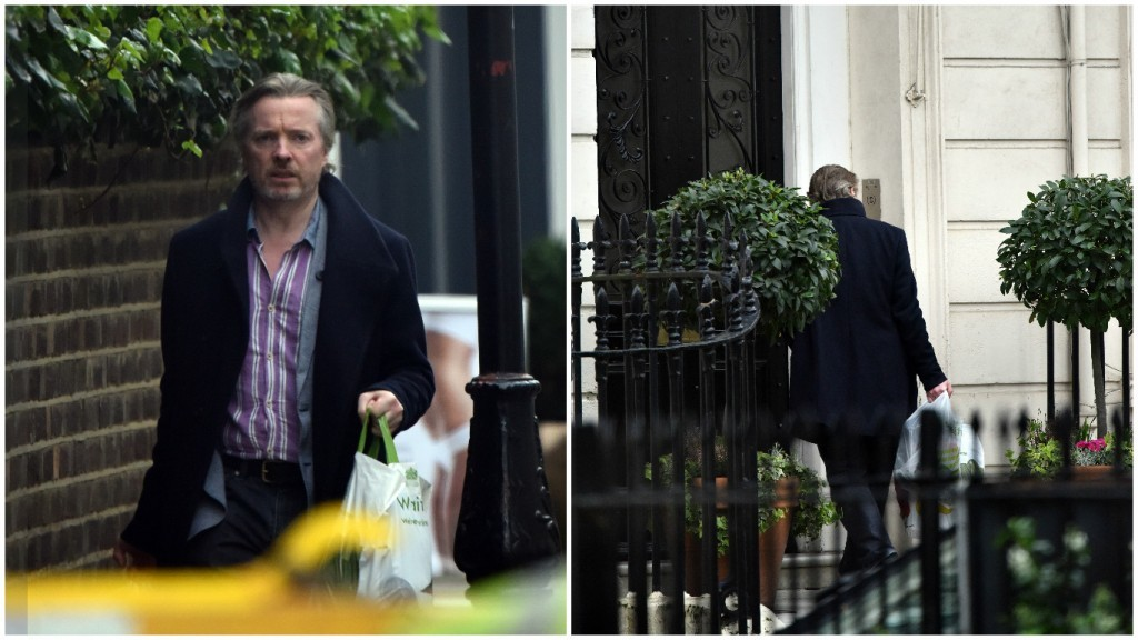 Craig Whyte in Belgravia (W8Media)