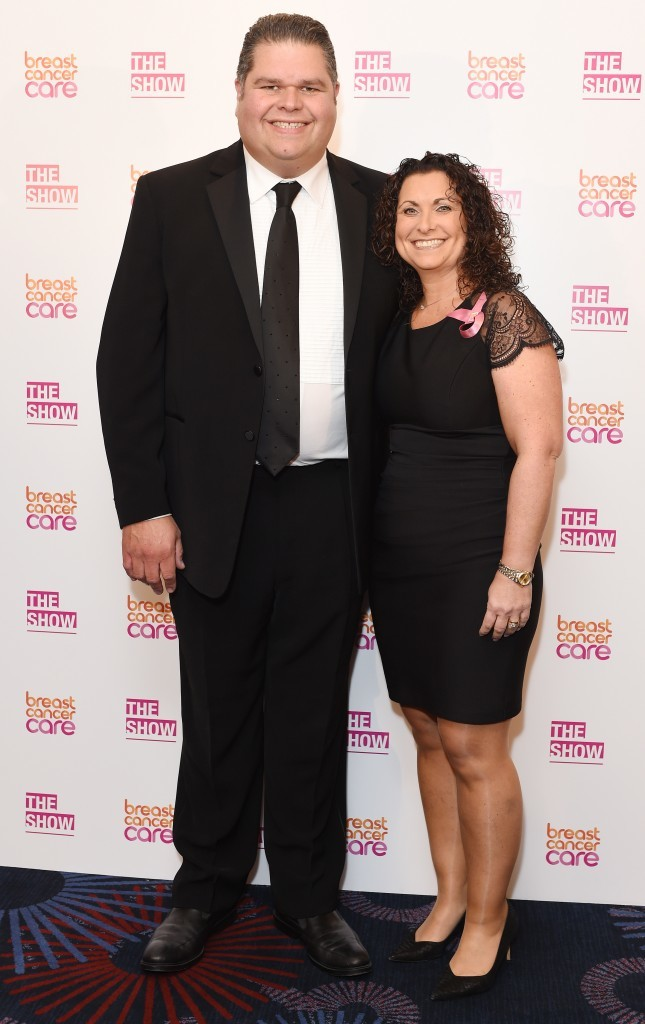 Jonathan and Nikki ( Tabatha Fireman/Getty Images for Breast Cancer Care)