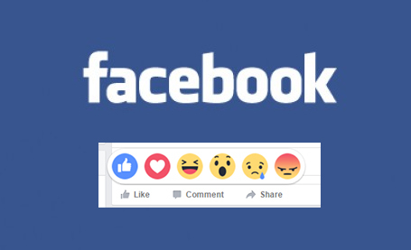 Facebook has introduced reactions