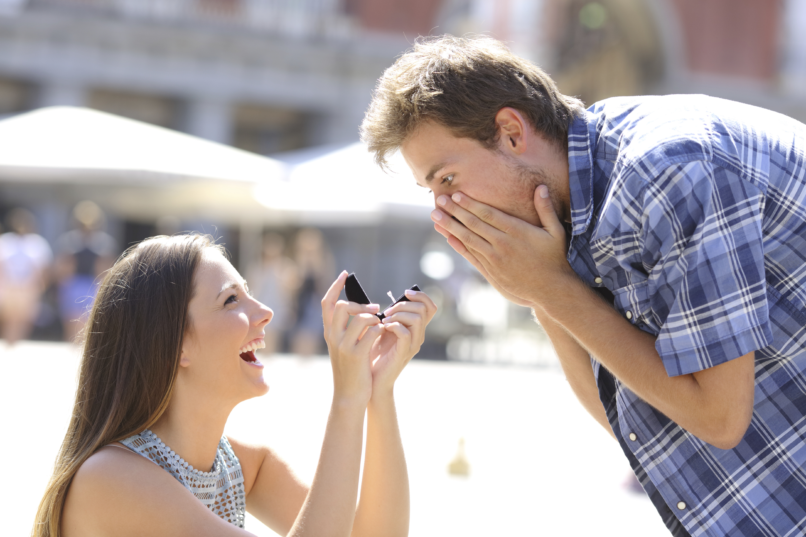 It's a leap year so women will be proposing to men, according to tradition (AntonioGuillem)
