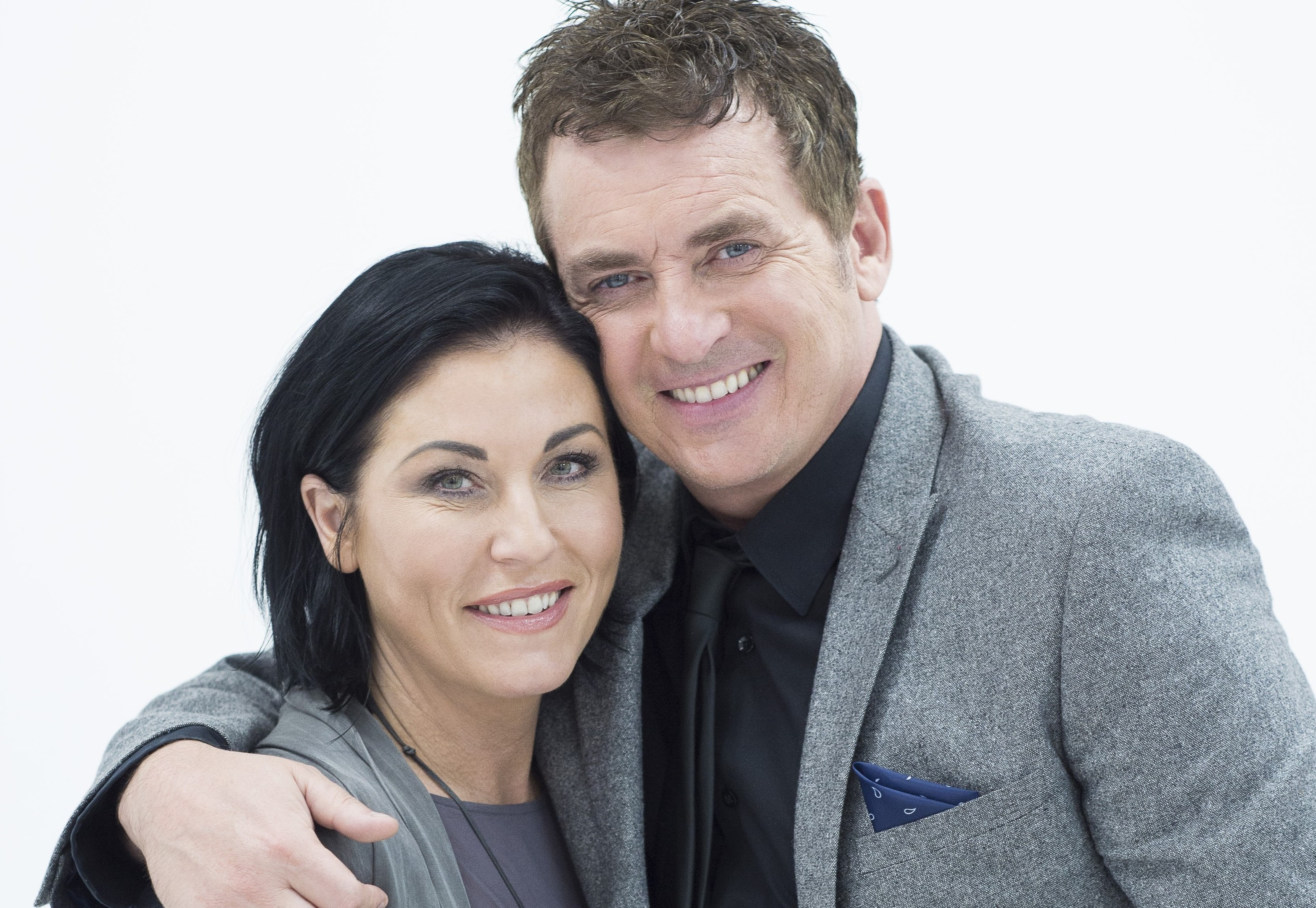 Shane Richie and Jessie Wallace perform together in The Perfect Murder (Honeybunn Photography)