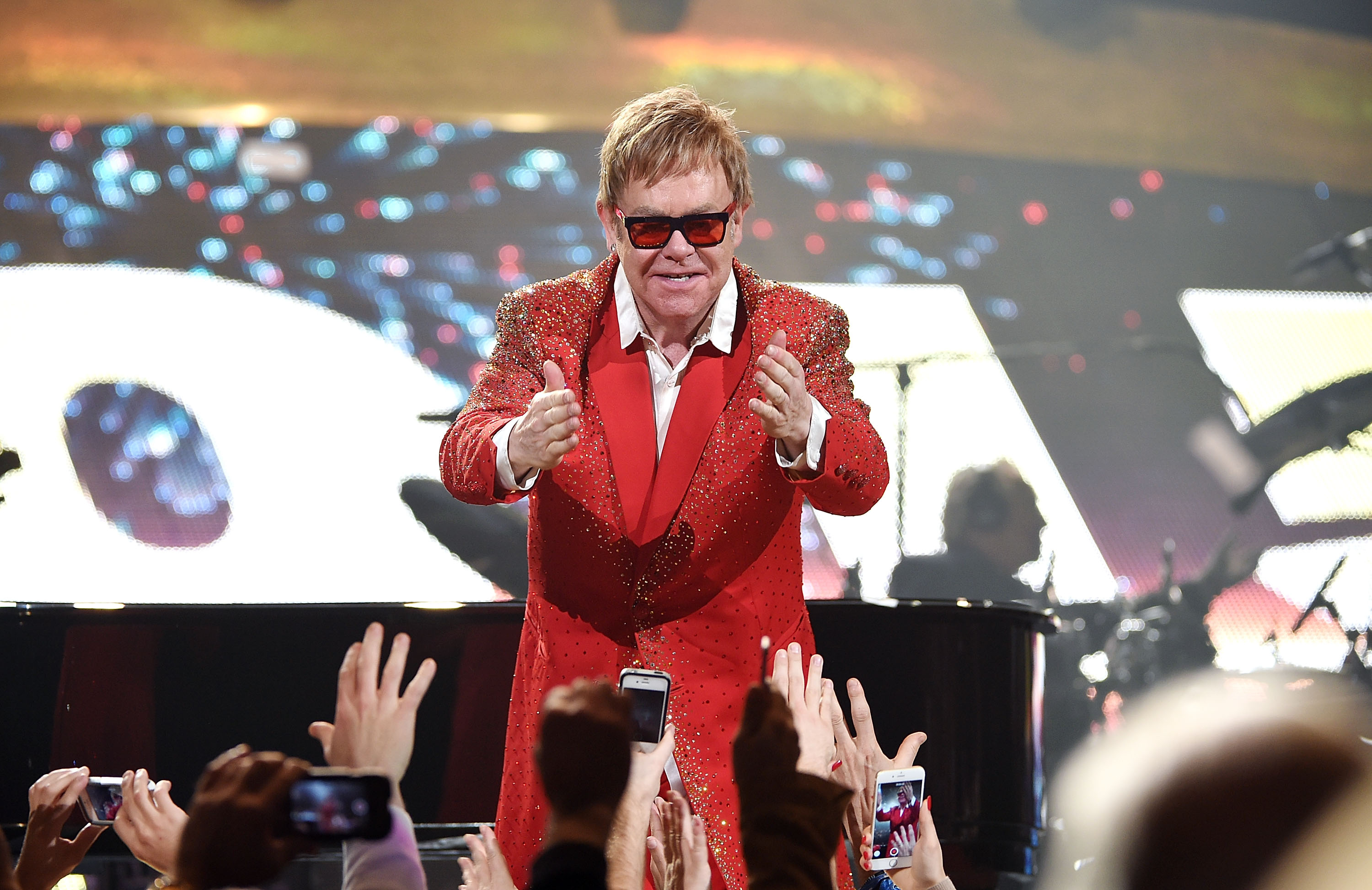 Elton John (Andrew H. Walker/ Getty Images)
