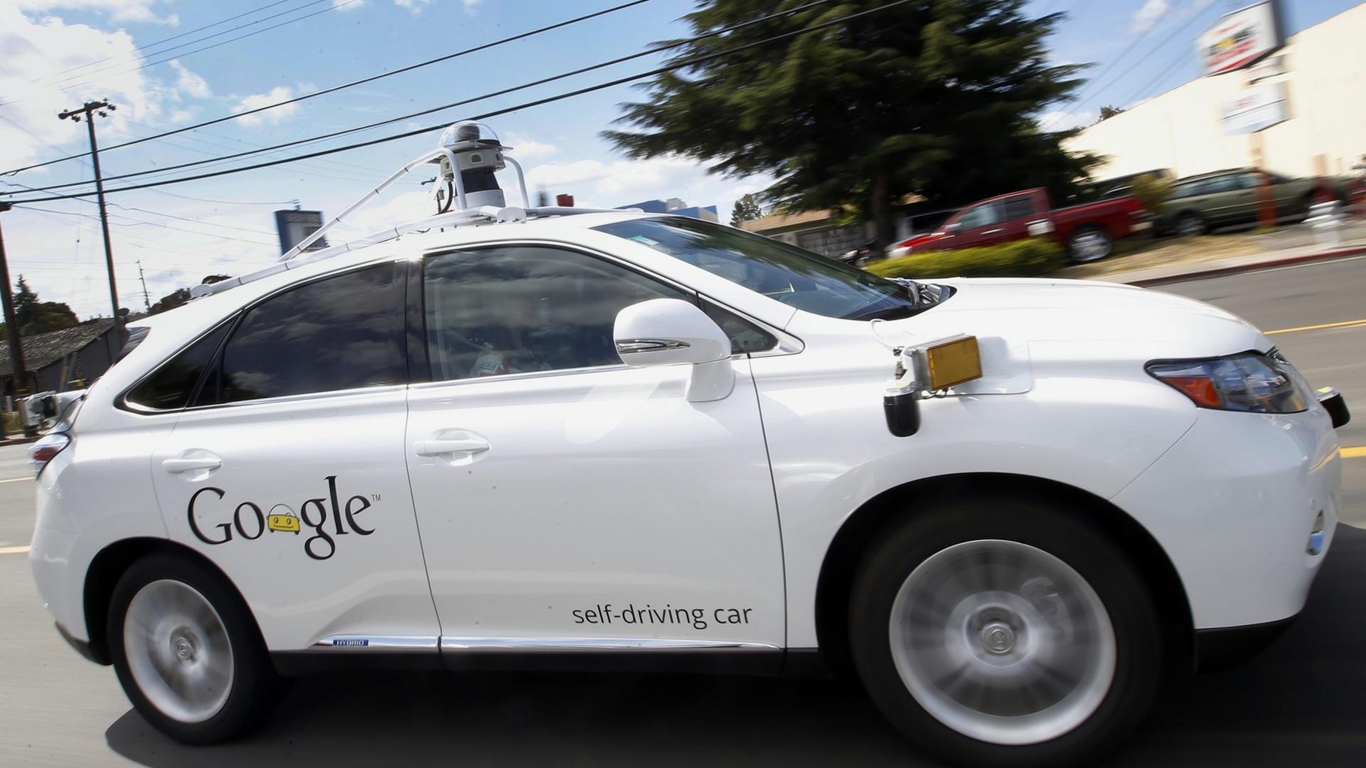 Google car (PA)