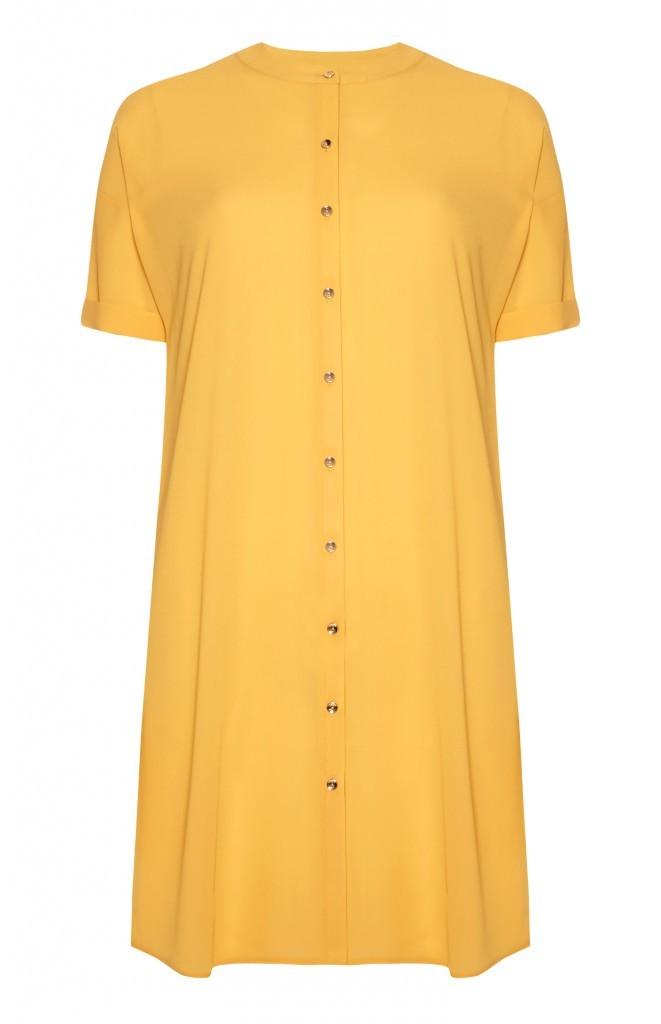 Shirt dress, £13, Primark