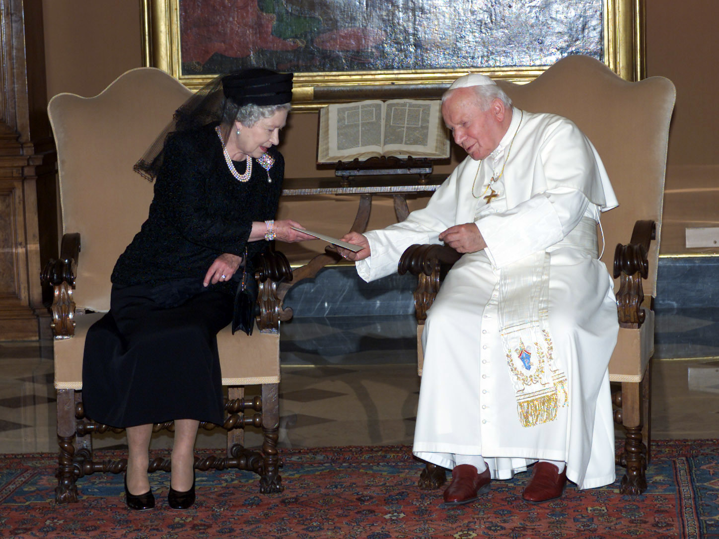 Queen Elizabeth II State Visit to the Vatican (PA)