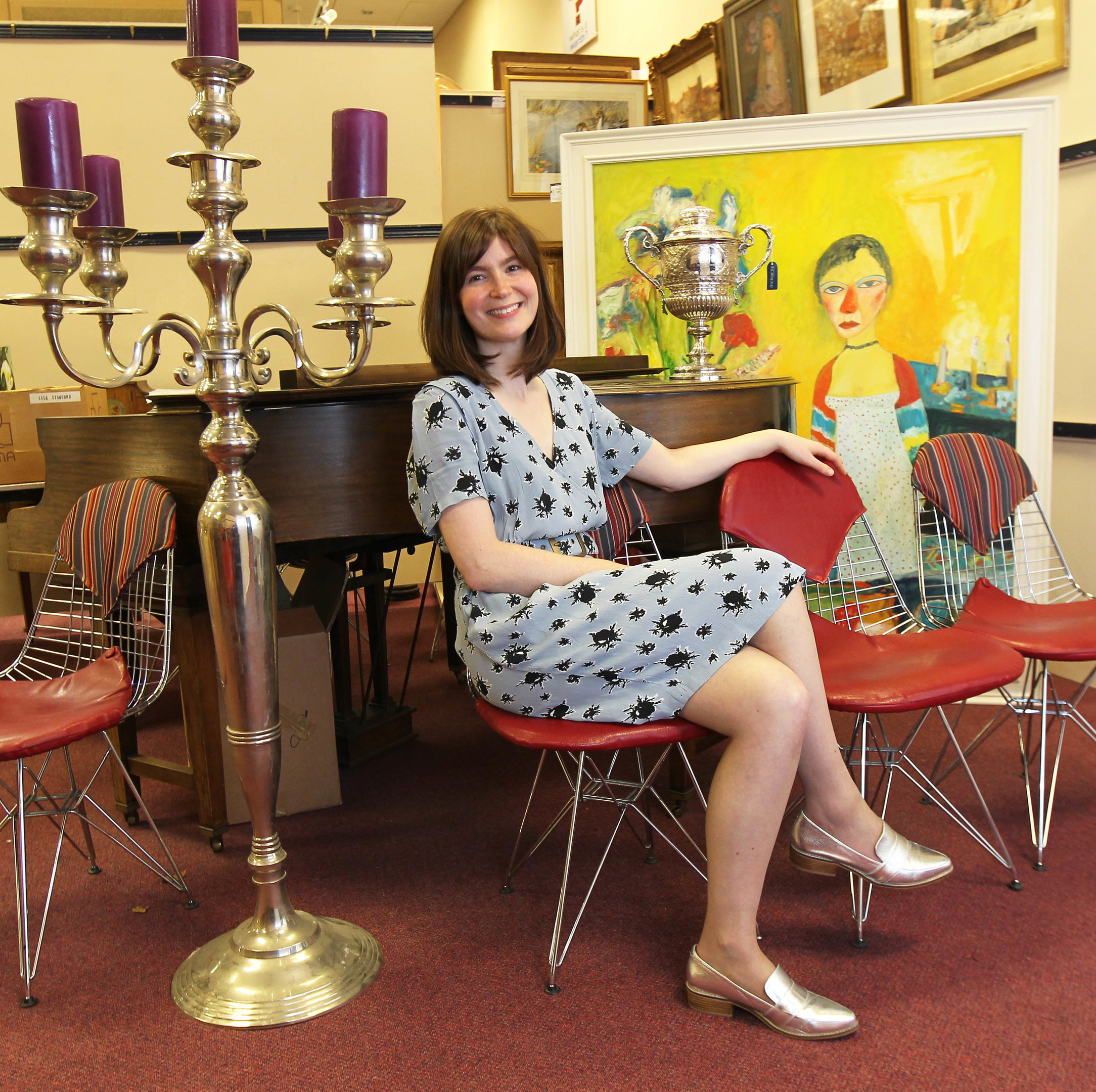 Natasha Raskin hosts Bargain Hunt, a show that encourages people to get their goods valued for sale... but you should also do the same for insurance purposes (Barry Marshall/ DC Thomson)