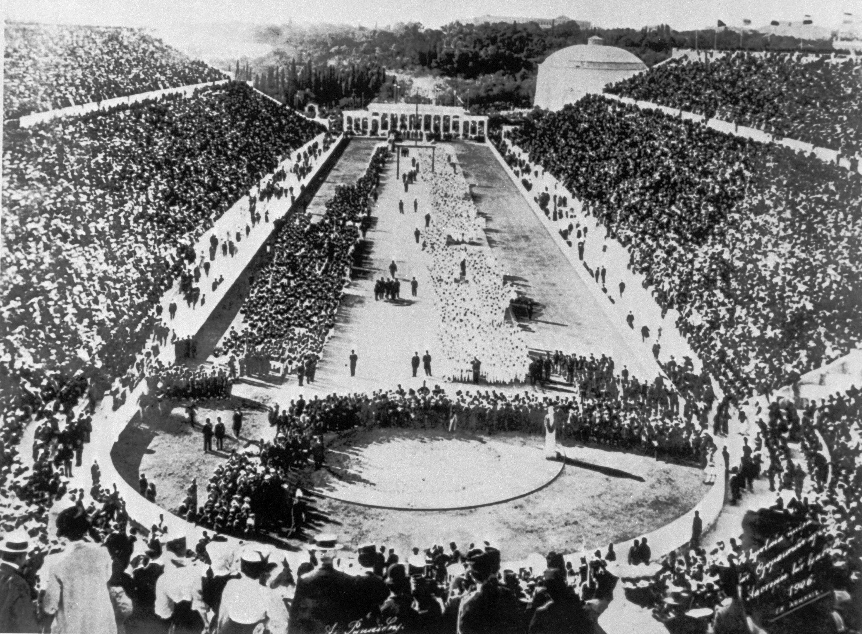 1896 Opening ceremony (Getty Images)