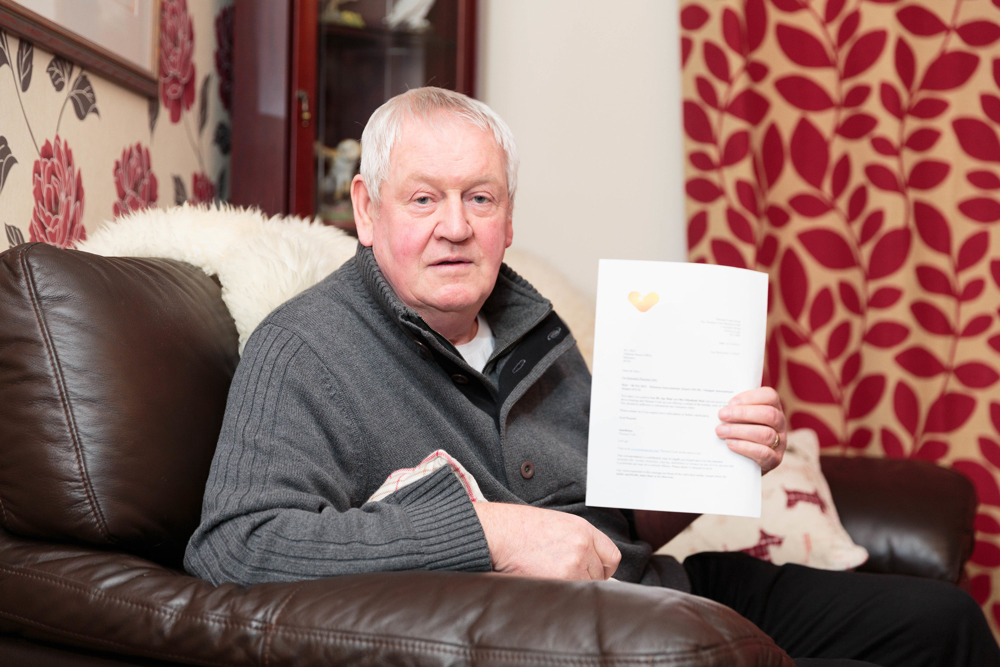 Ian Moir of Banchory, Aberdeenshire, contacted Raw Deal to get help with his Thomas Cook flight refund (Ross Johnston/Newsline Media)
