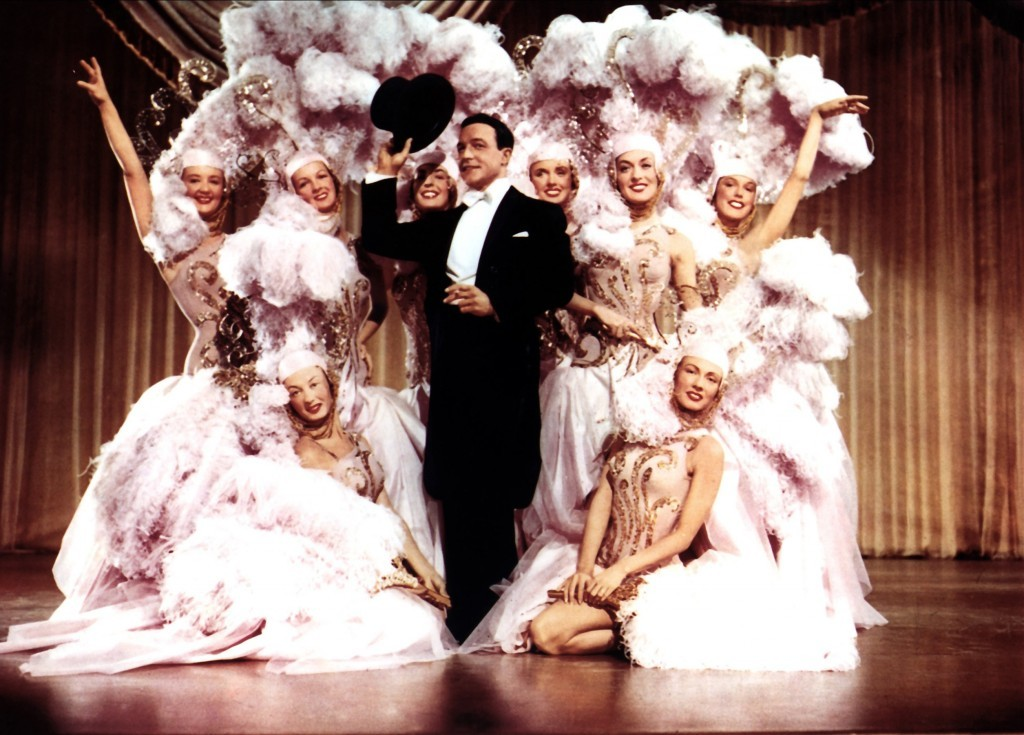 Gene Kelly and dancers (Allstar/MGM)