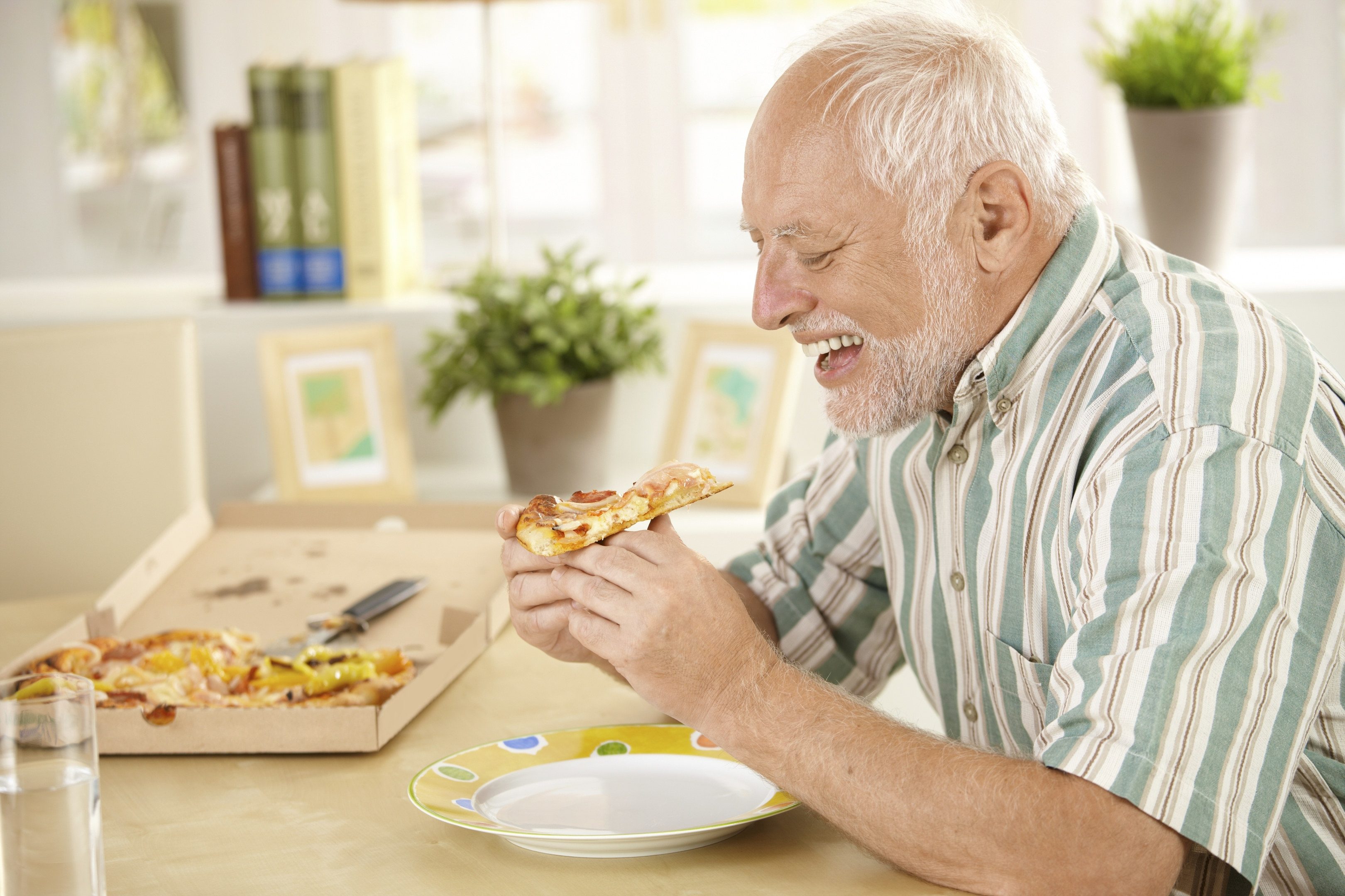 The pizza diet? (Getty Images)
