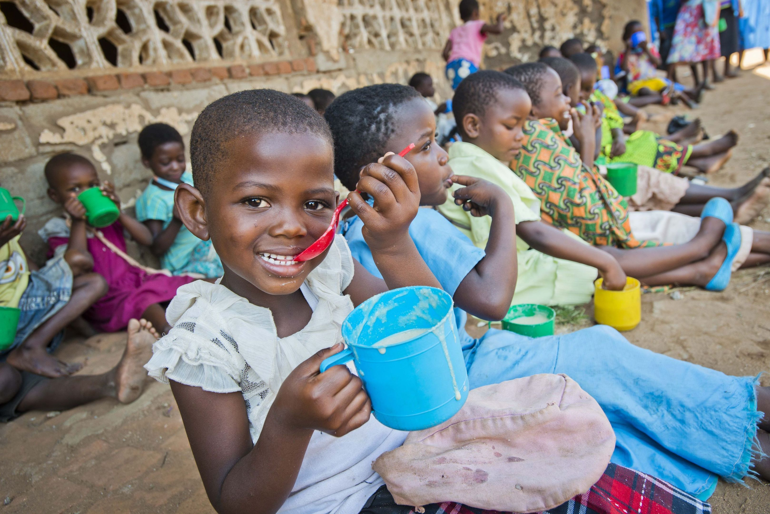Mary's Meals provide children in Malawi and across the world (Chris Watt/PA Wire)
