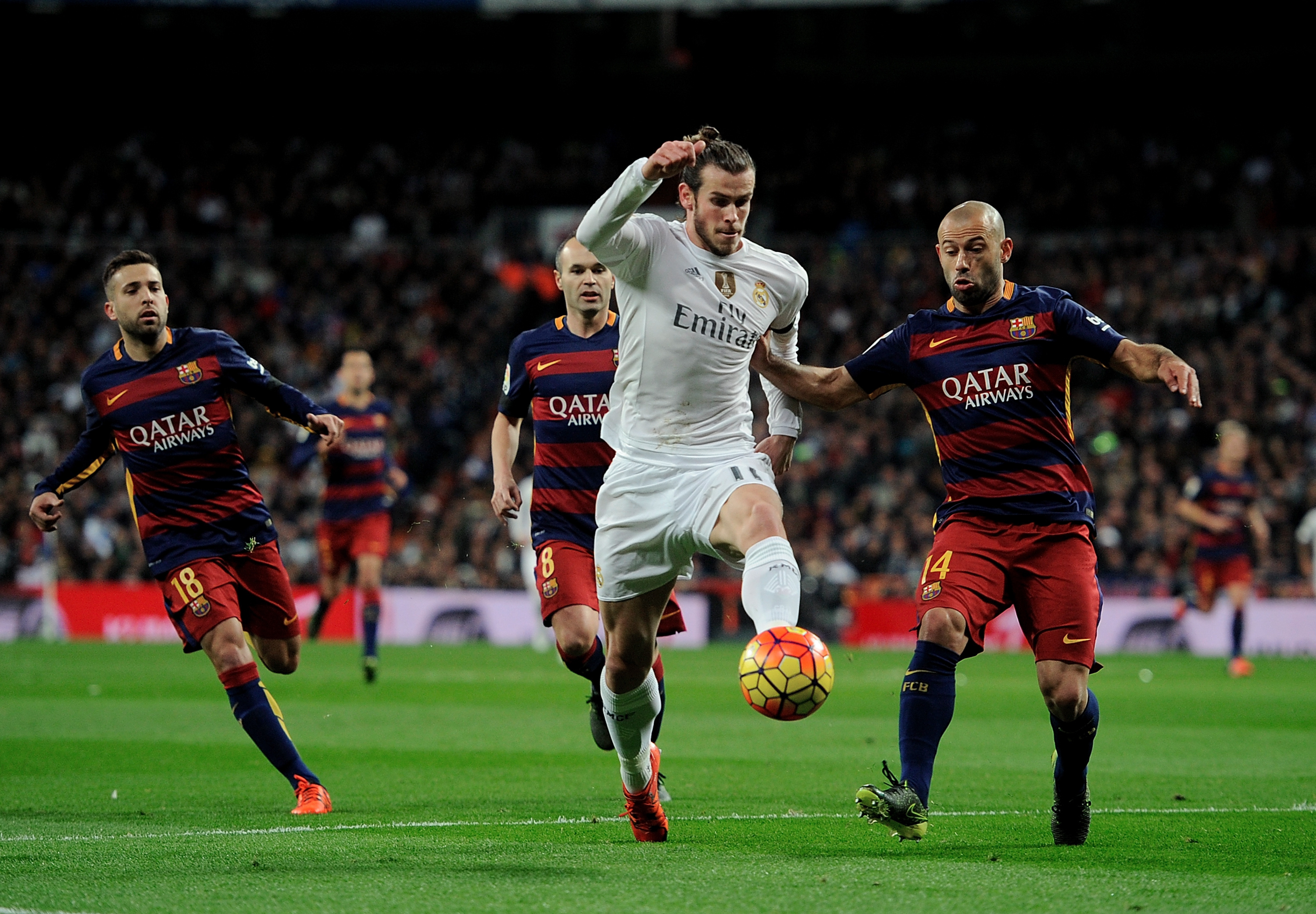 Top sides like Real Madrid and Barcelona want in on the big TV money action (Getty Images)