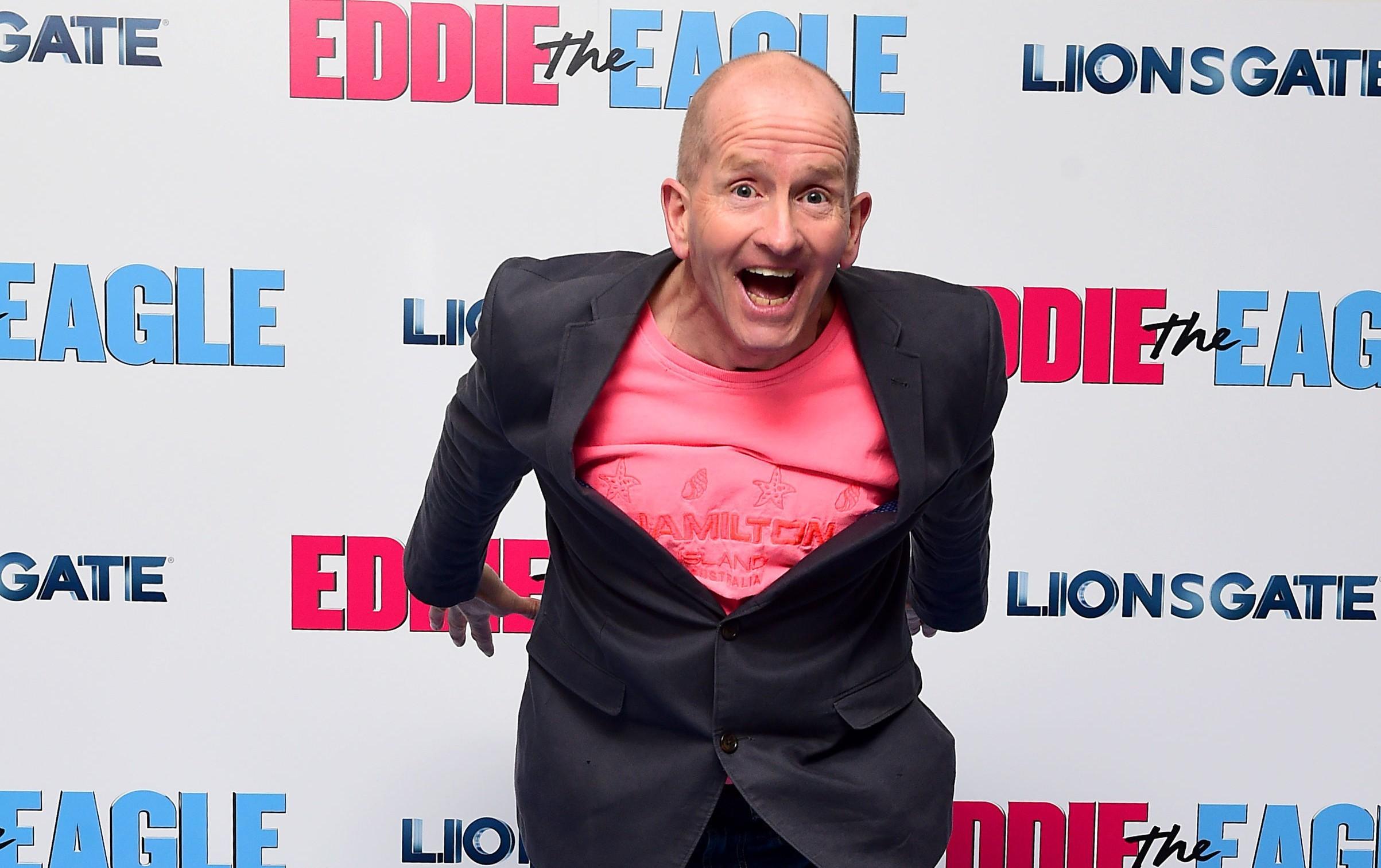 "Eddie ""The Eagle"" Edwards (Ian West/PA Wire)"