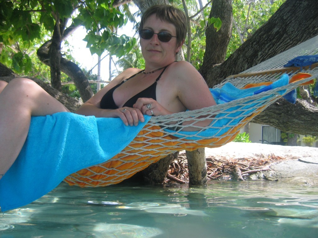 Louise took regular holidays to destinations like the Maldives