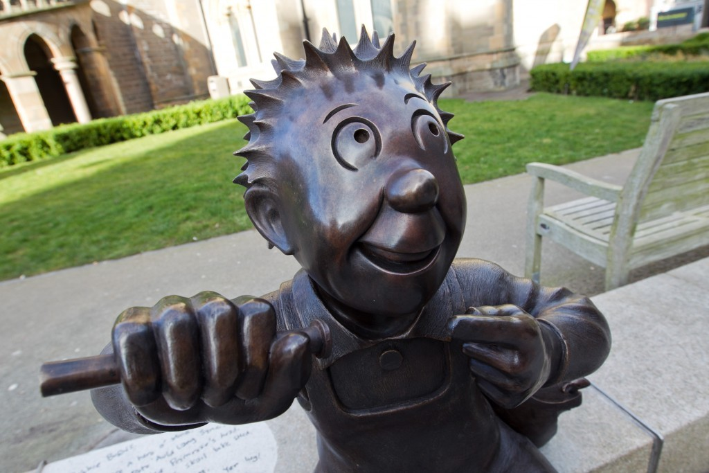 The new Oor Wullie statue (Andrew Cawley / DC Thomson)