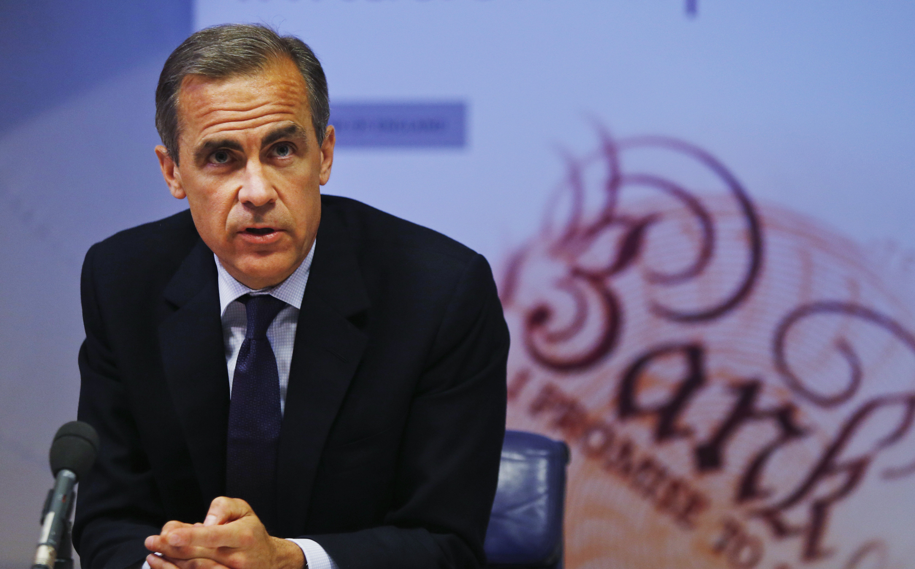 Governor of the Bank of England Mark Carney (Lefteris Pitarakis/PA Wire)