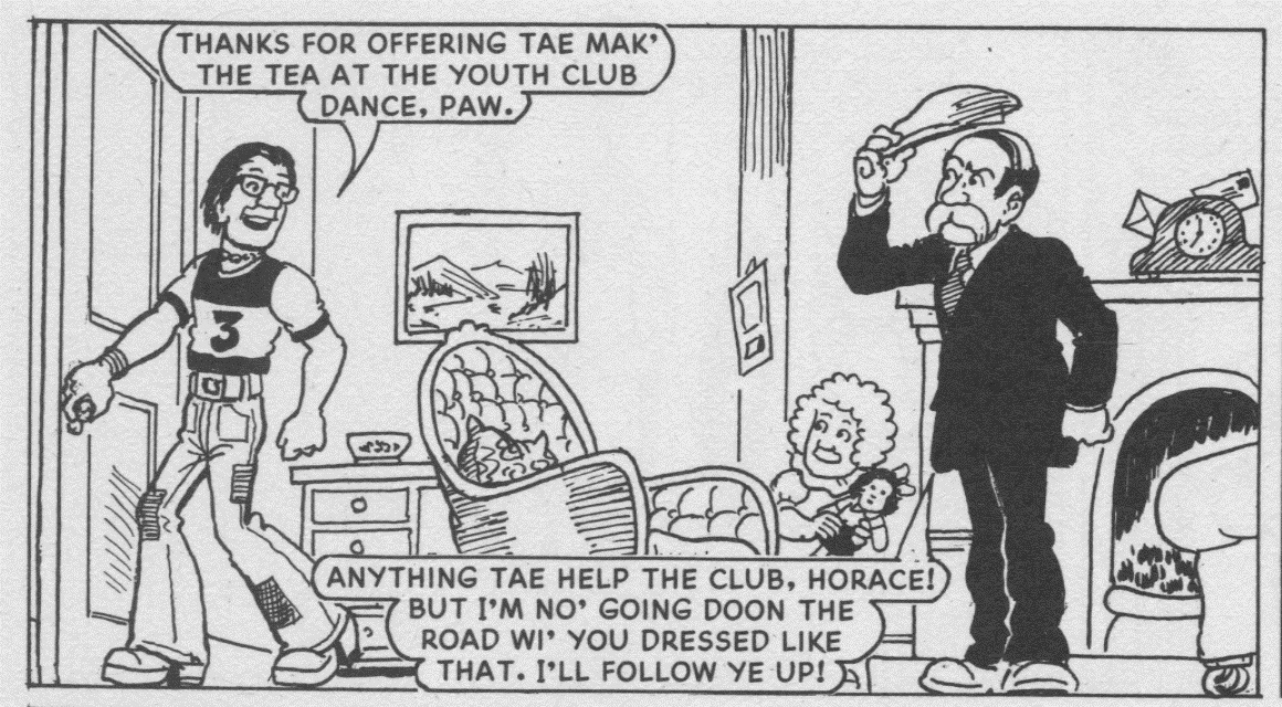 1983 Horace – a hugely different Horace makes a one-off appearance here.