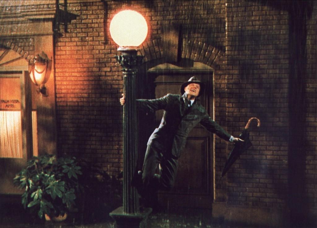 Gene Kelly in Singin' in the Rain (Allstar/MGM)